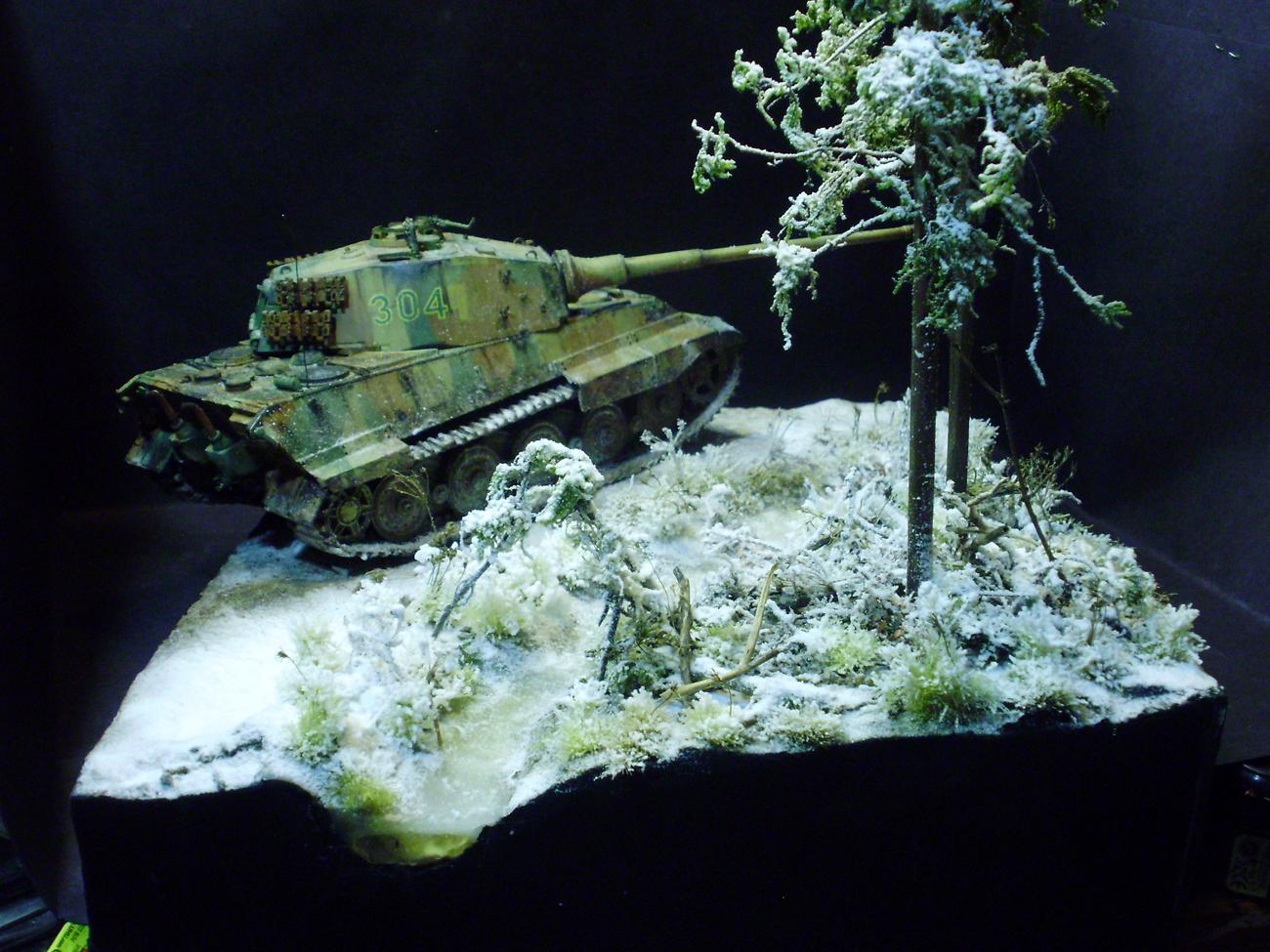 Germans, Snow, Tiger Ii, World War 2