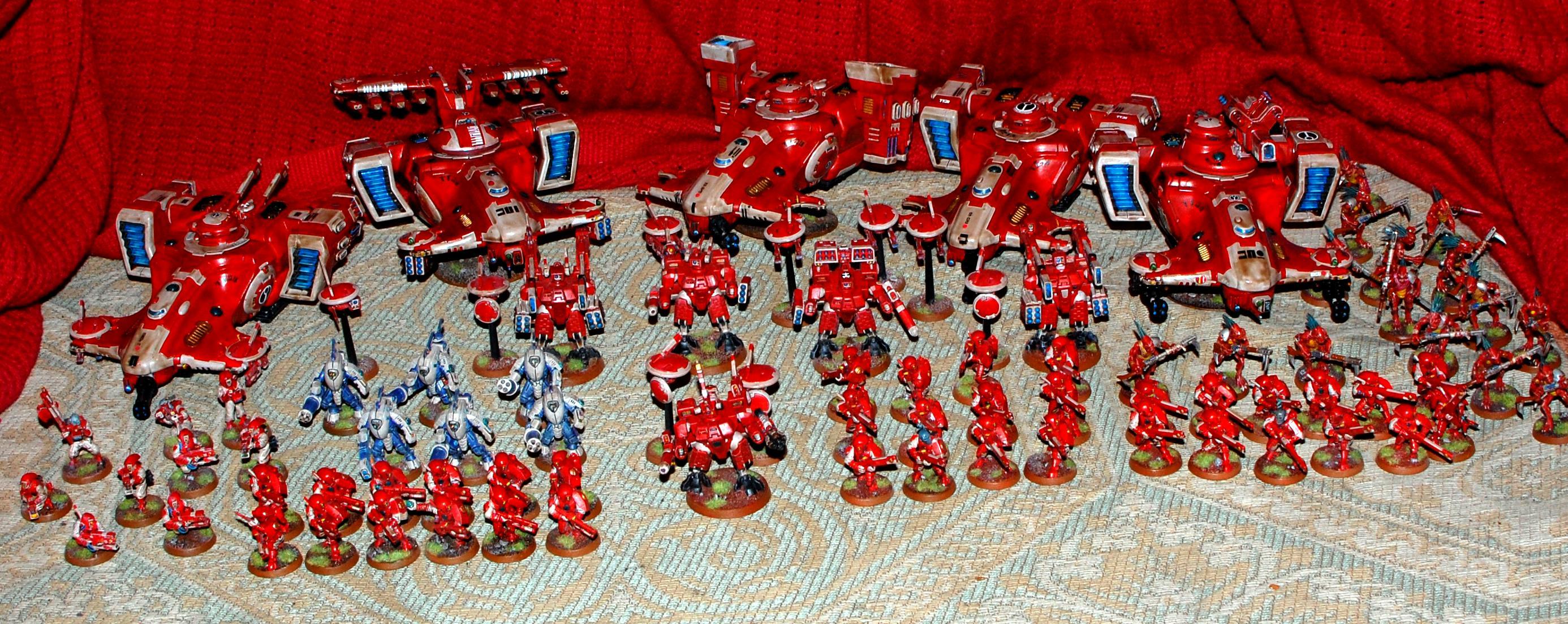 Falshia, Red, Tau, Tau Army