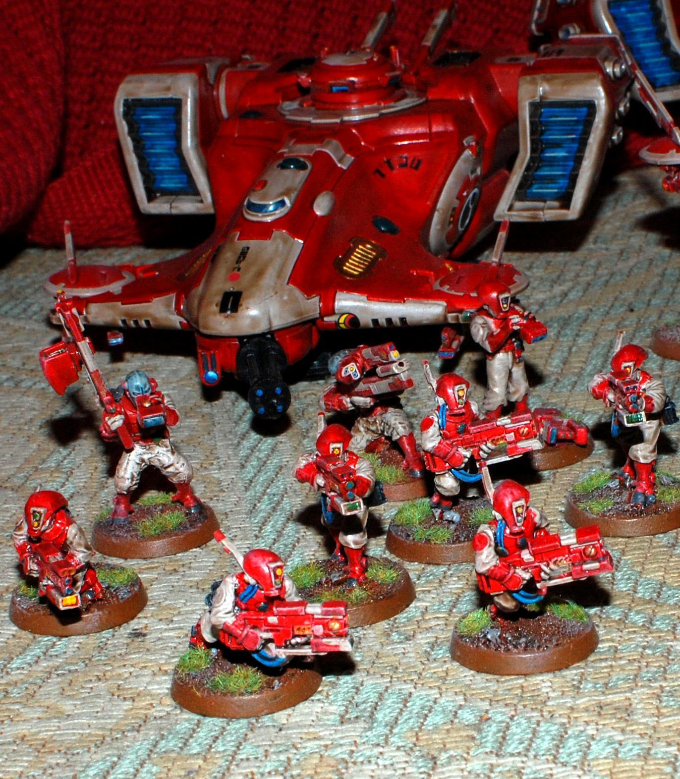 Pathfinders, Red, Tau