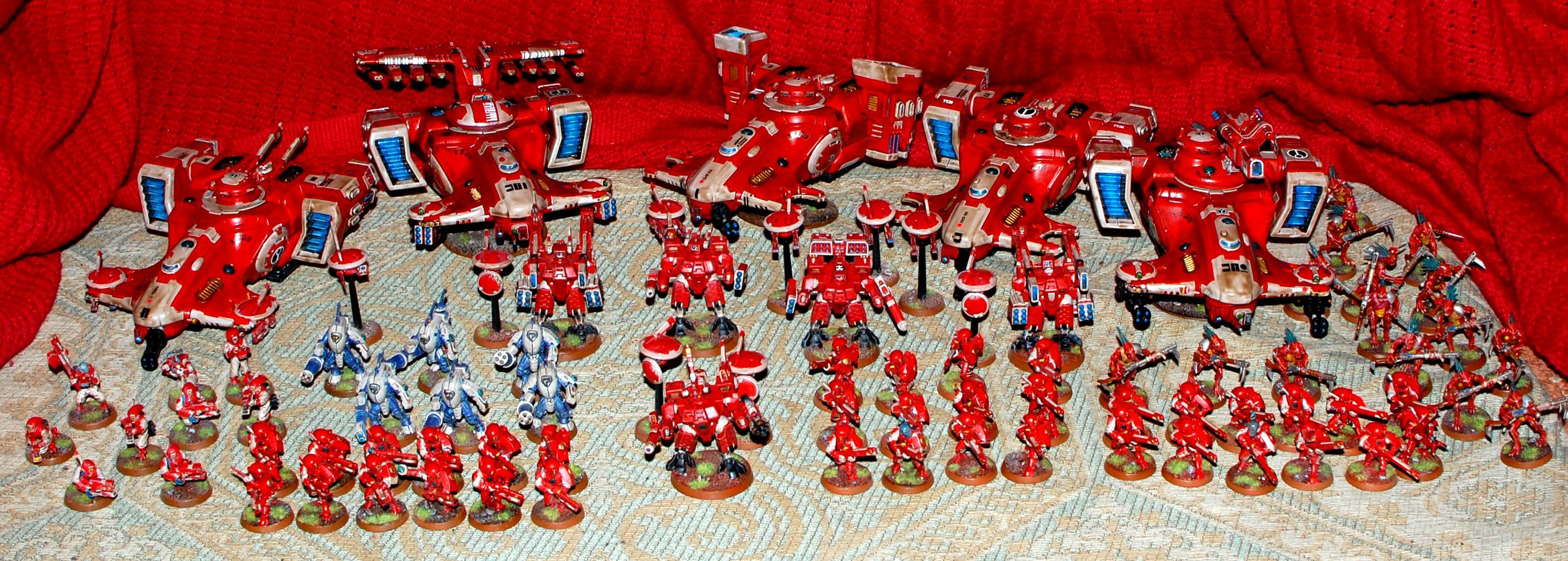 Fal'shia, Red, Sept, Tau, Warhammer 40,000