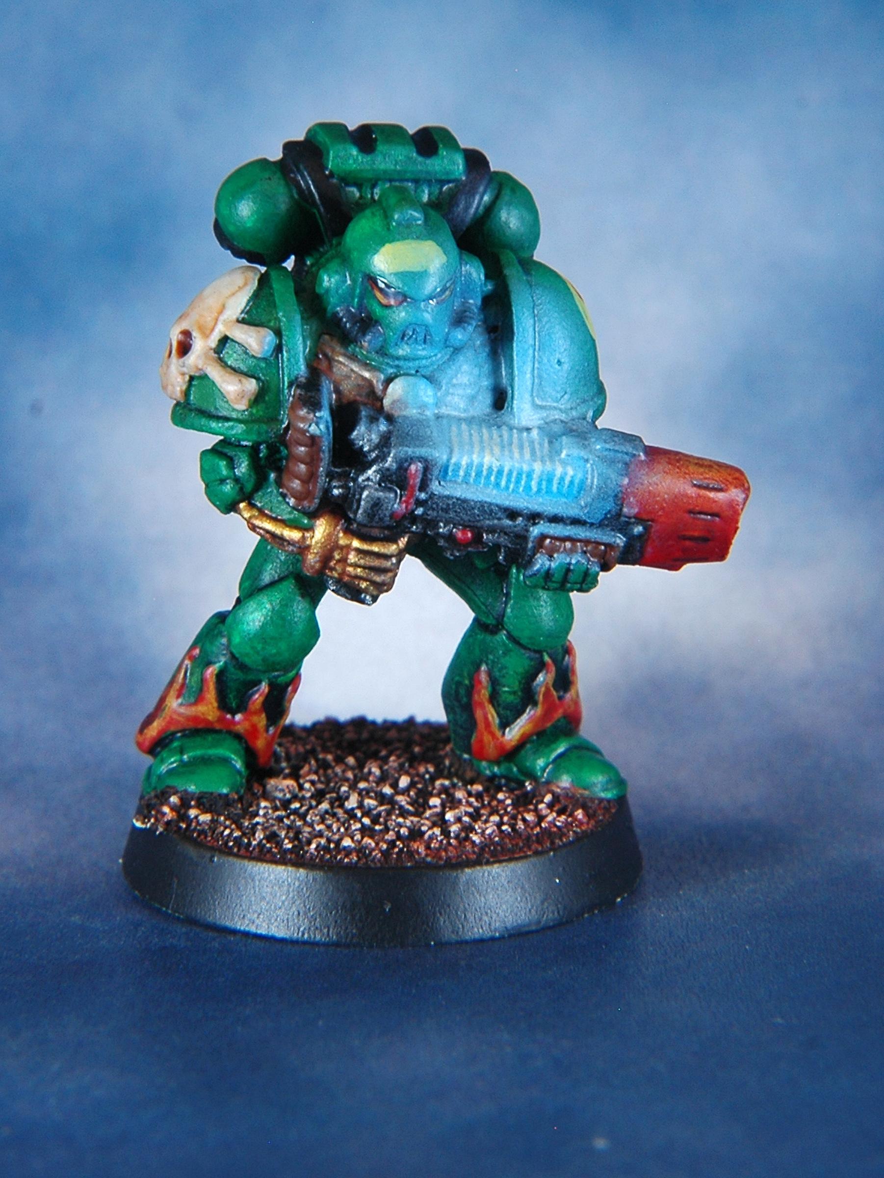Mantis Warriors, Object Source Lighting, Plasma, Space Marines, Warhammer 40,000