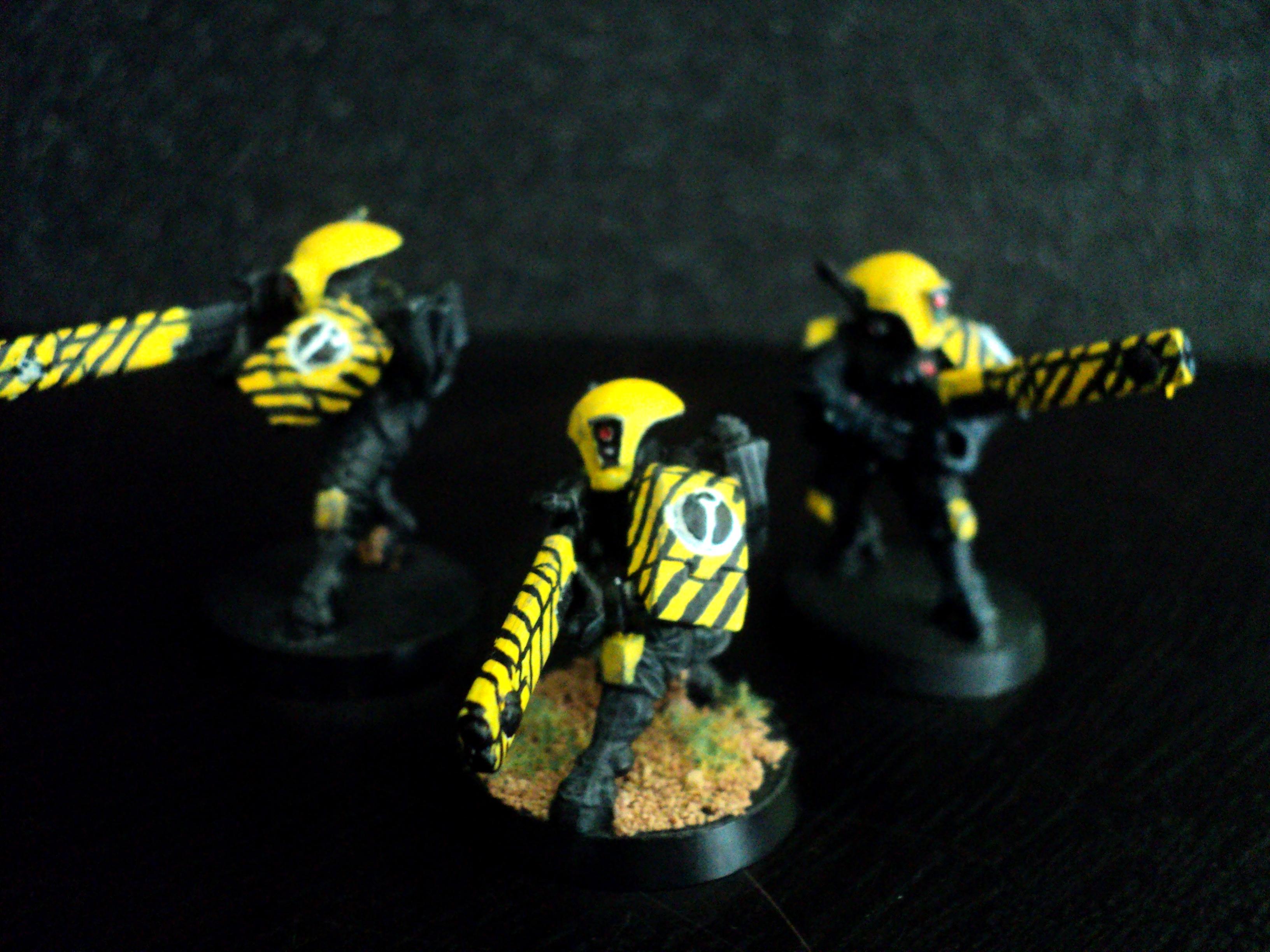 Fire Warriors, Tau, Urban, Yellow