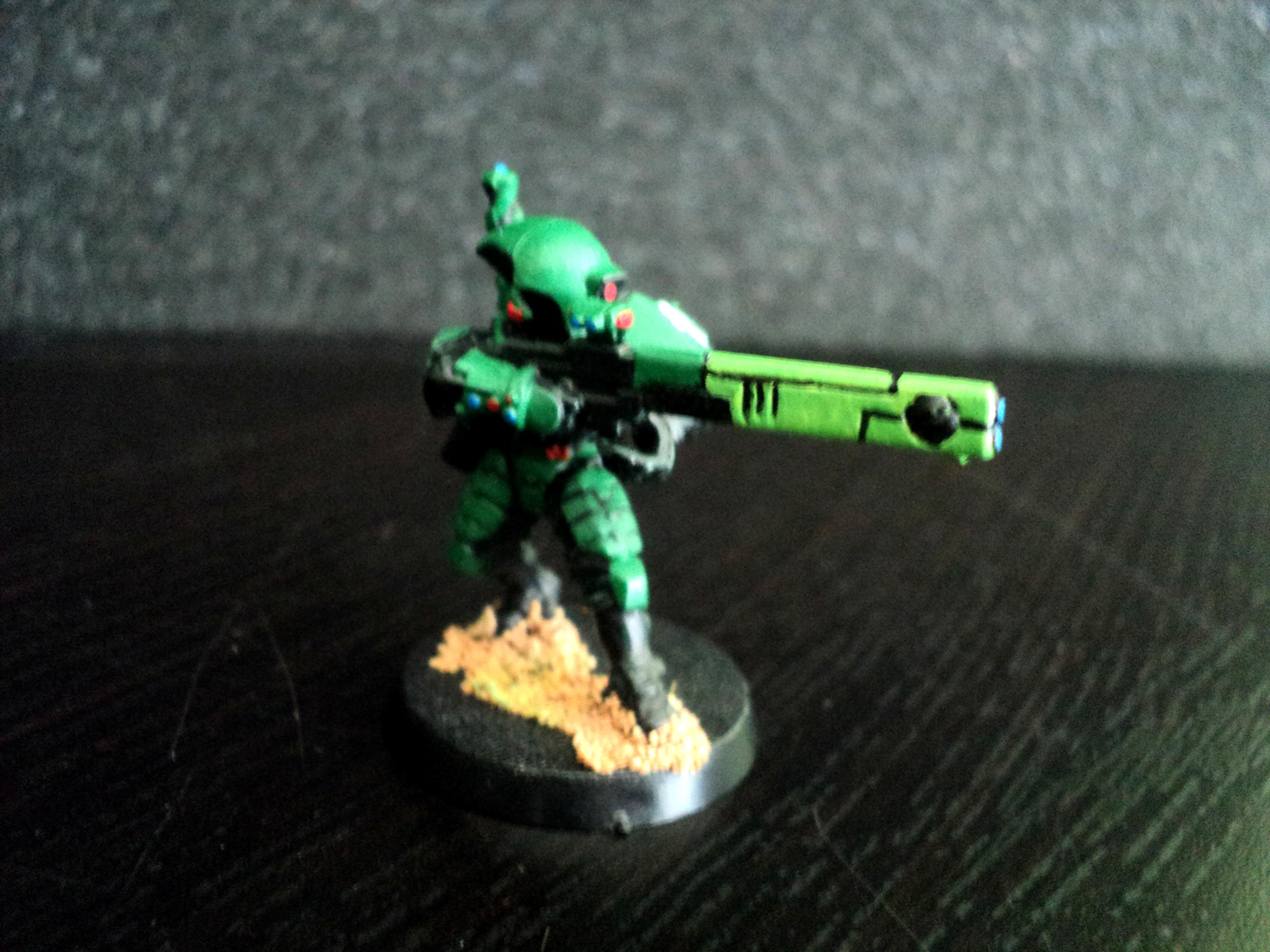 Fire Warriors, Green, Tau