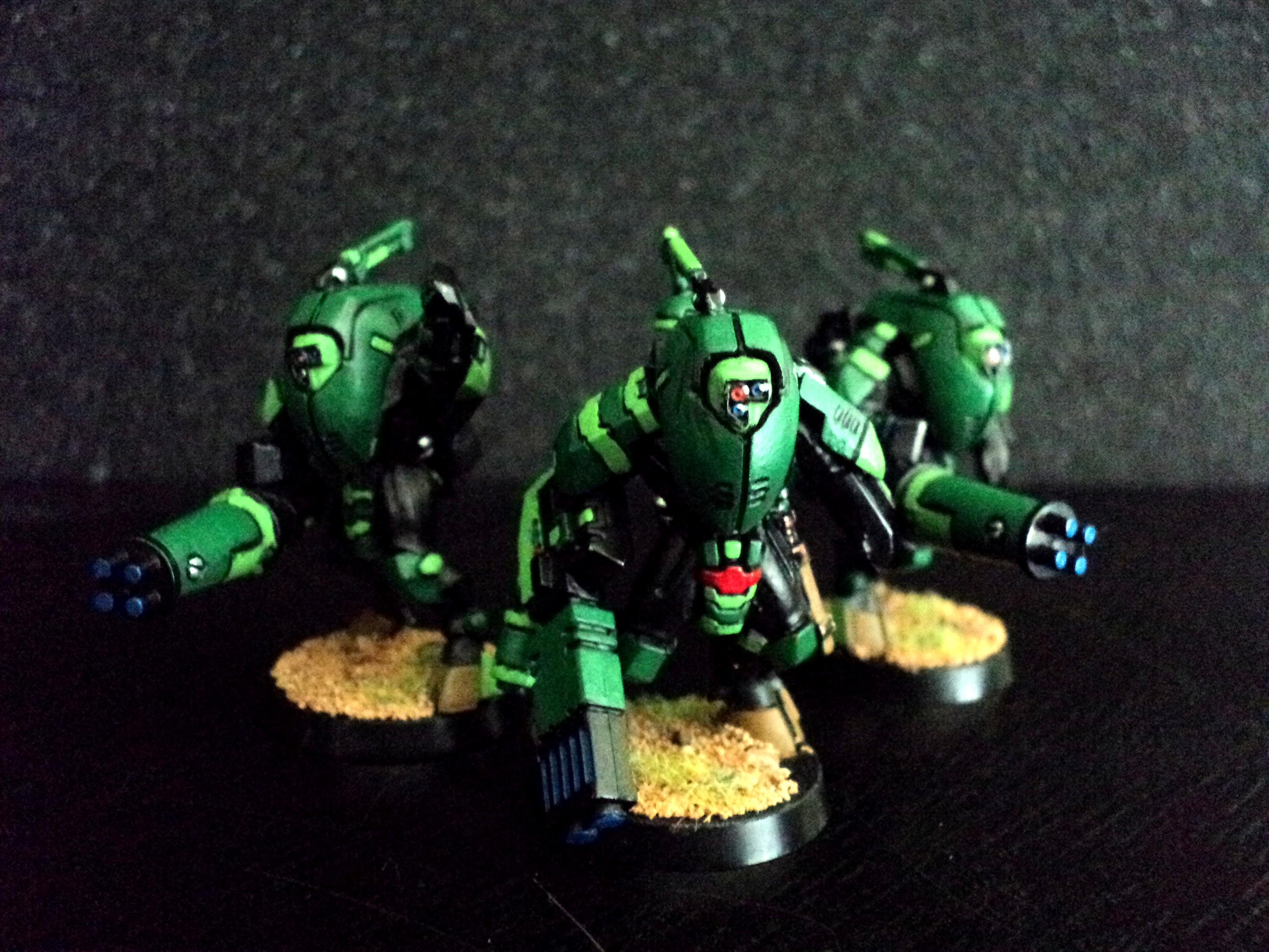 Green, Stealth, Suit, Tau