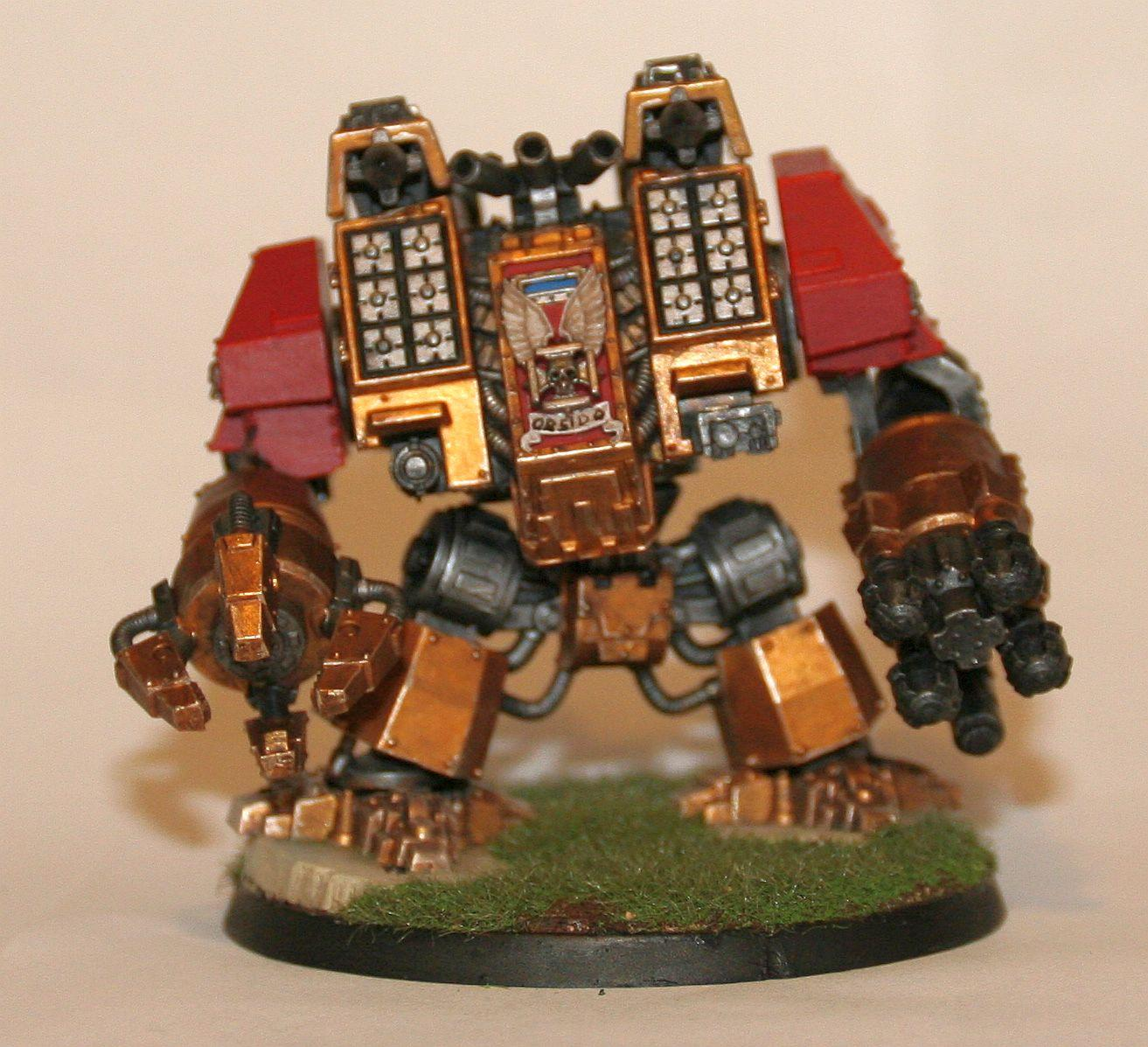 Dreadnought, Ironclad, Space Marines