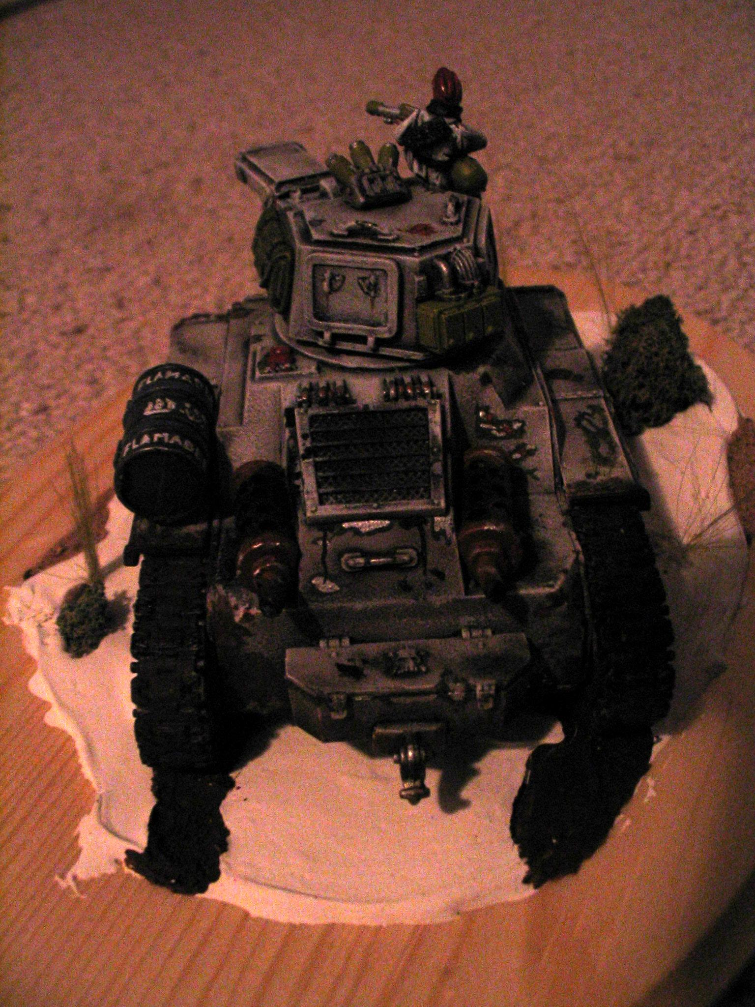 Conversion, Leman Russ, Leman Russ Punisher, Modification, Punisher, Tank