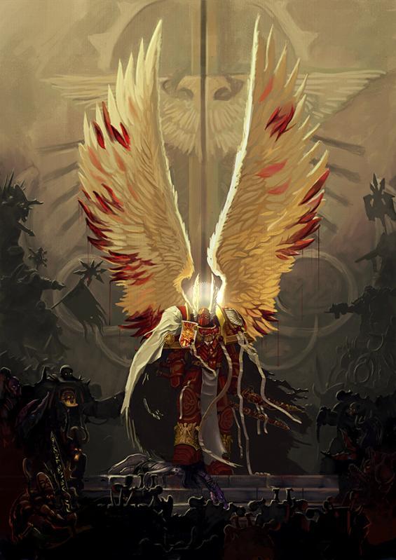 Blood Angels, Primarch, Sanguinnius, Warhammer 40,000