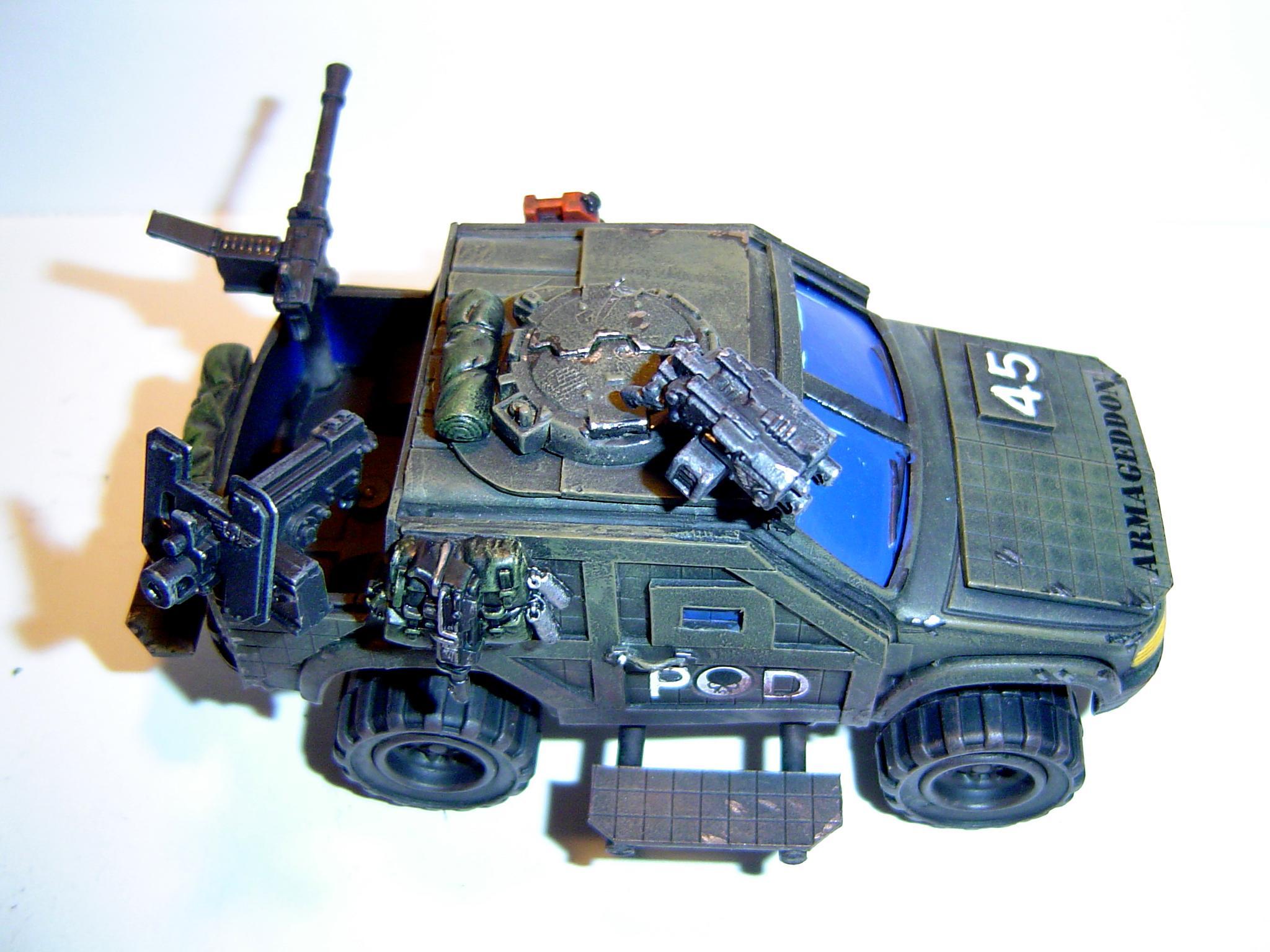 4x4, Imperial Guard, Leman Russ, Salimander, Sentinel, Steel Legion, Tank, Warhammer 40,000