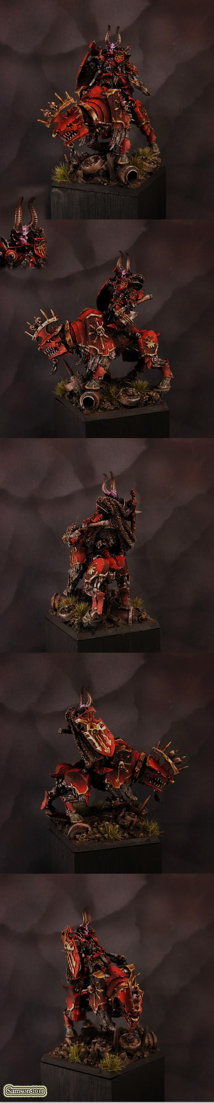 Awesome, Chaos, Chaos Lord, Chaos Warrior, Khorne, Warhammer Fantasy