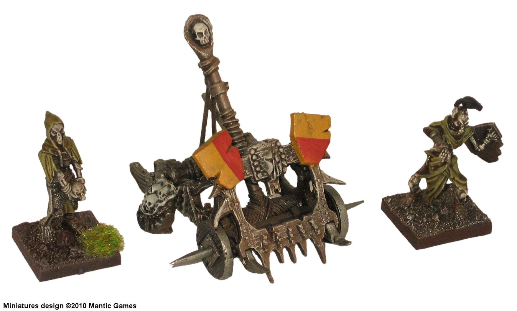 Catapult, Dwarves, Kings Of War, Mantic, Morghoth, Undead, War Machine, Warhammer Fantasy
