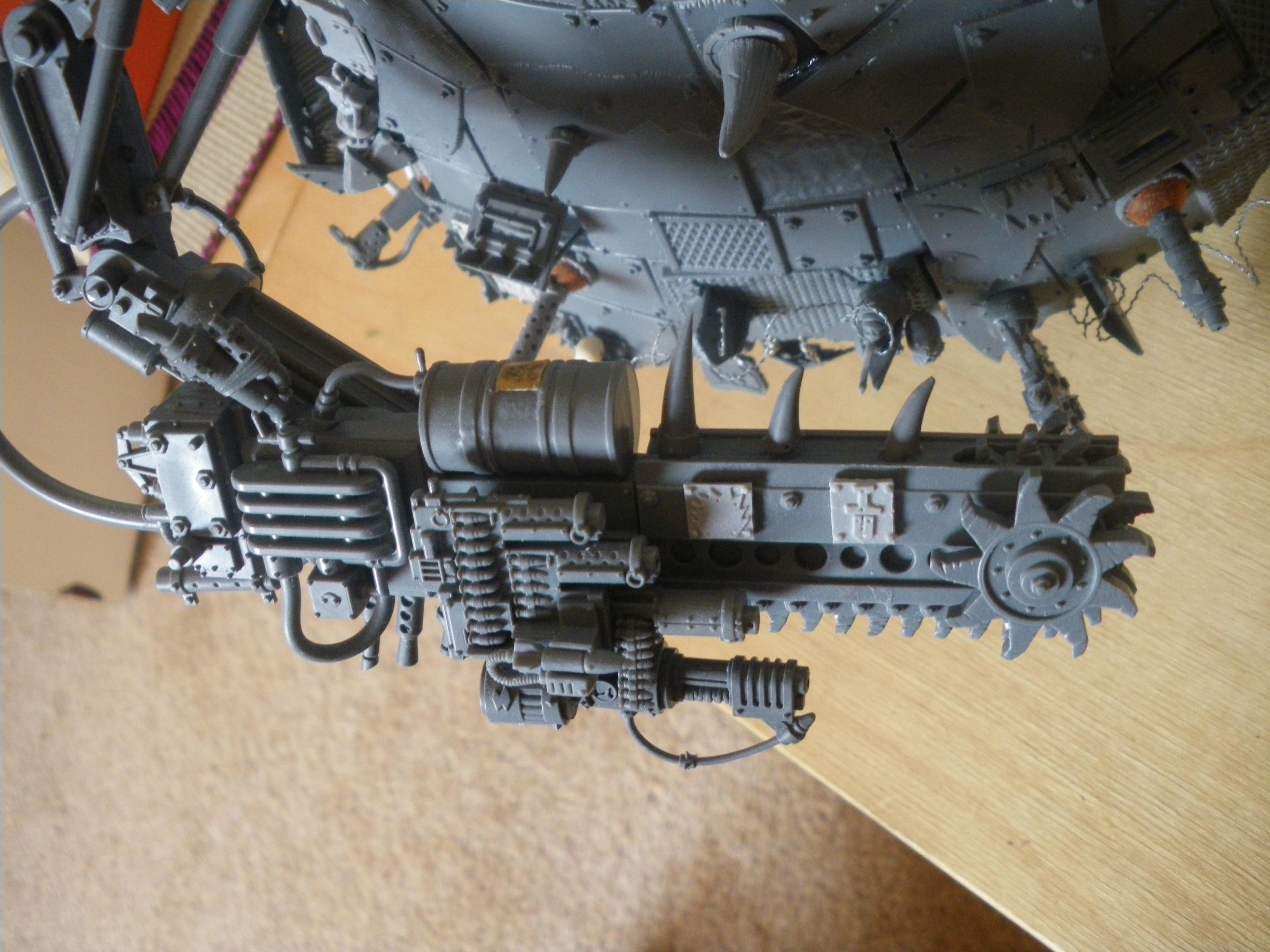 Convershun, Conversion, Grots, Grotz, Orks, Project, Stompa, Work In Progress