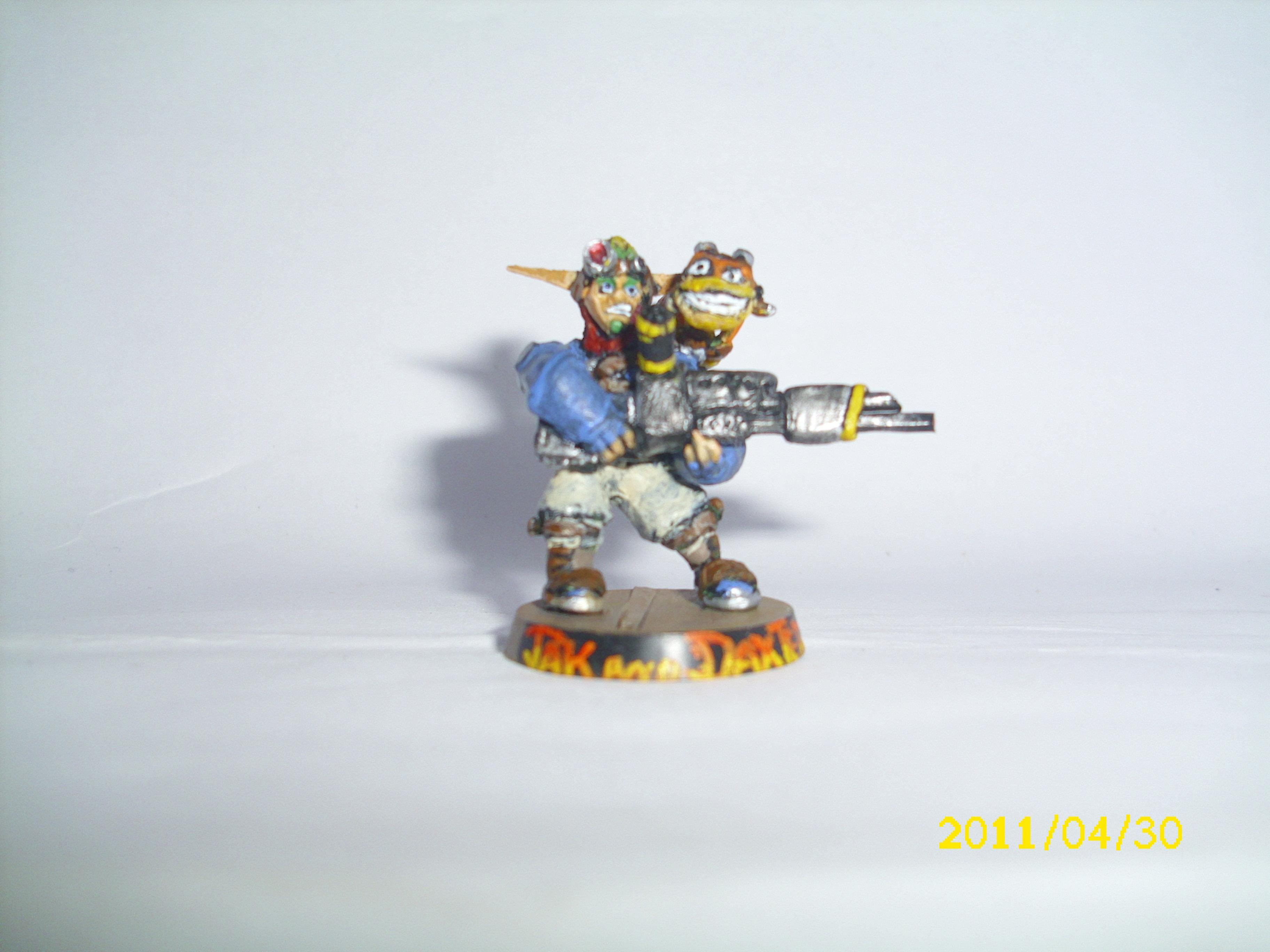 Daxter, Fan Art, Fan-made Model, Jak, Jak And Daxter, Warhammer 40,000, Warhammer Fantasy