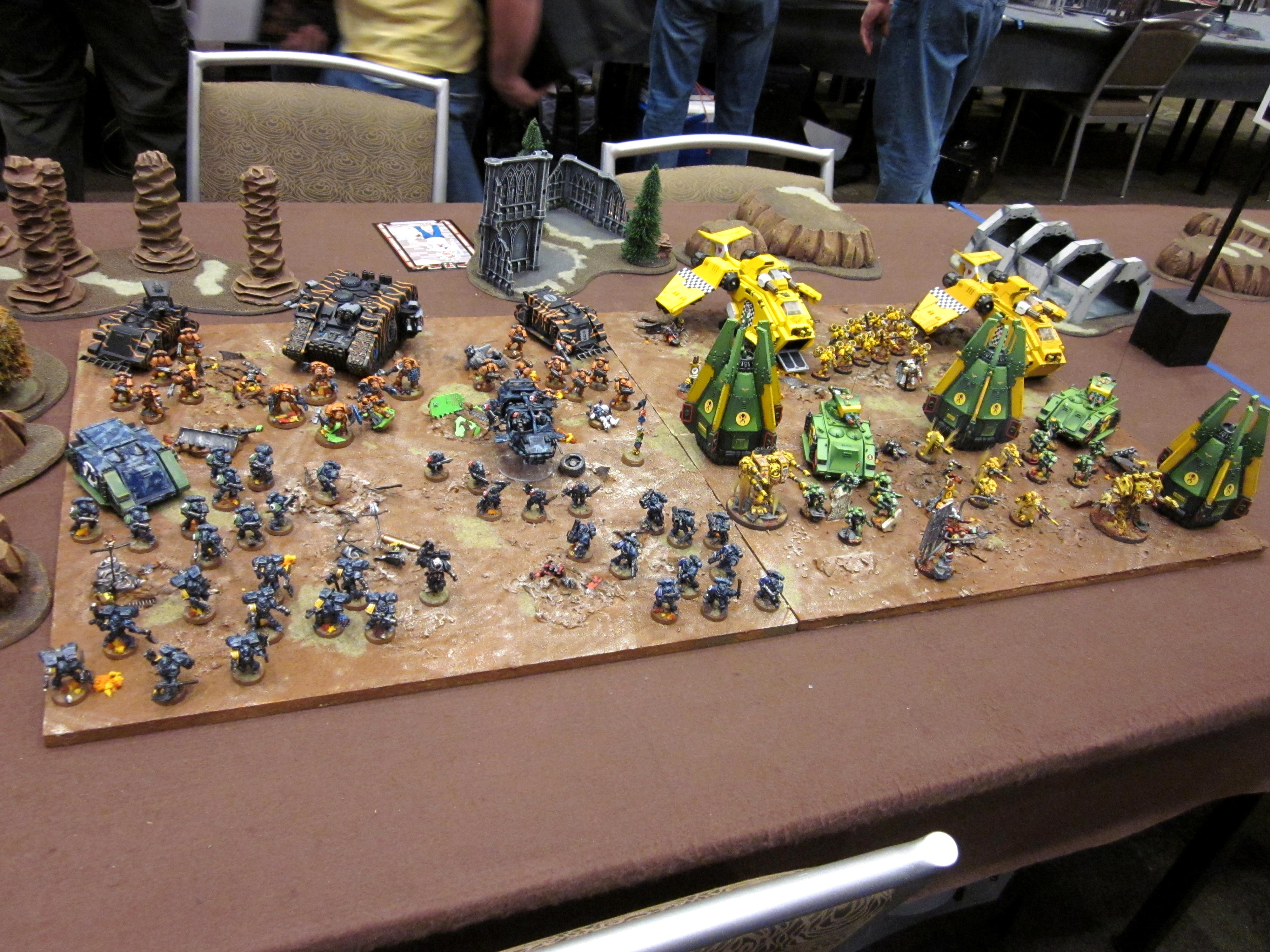 Adepticon 2011, Executioners, Lamenters, Mantis Warriors, Team Tournament, Tiger Claws, Wardens Of The Maelstrom