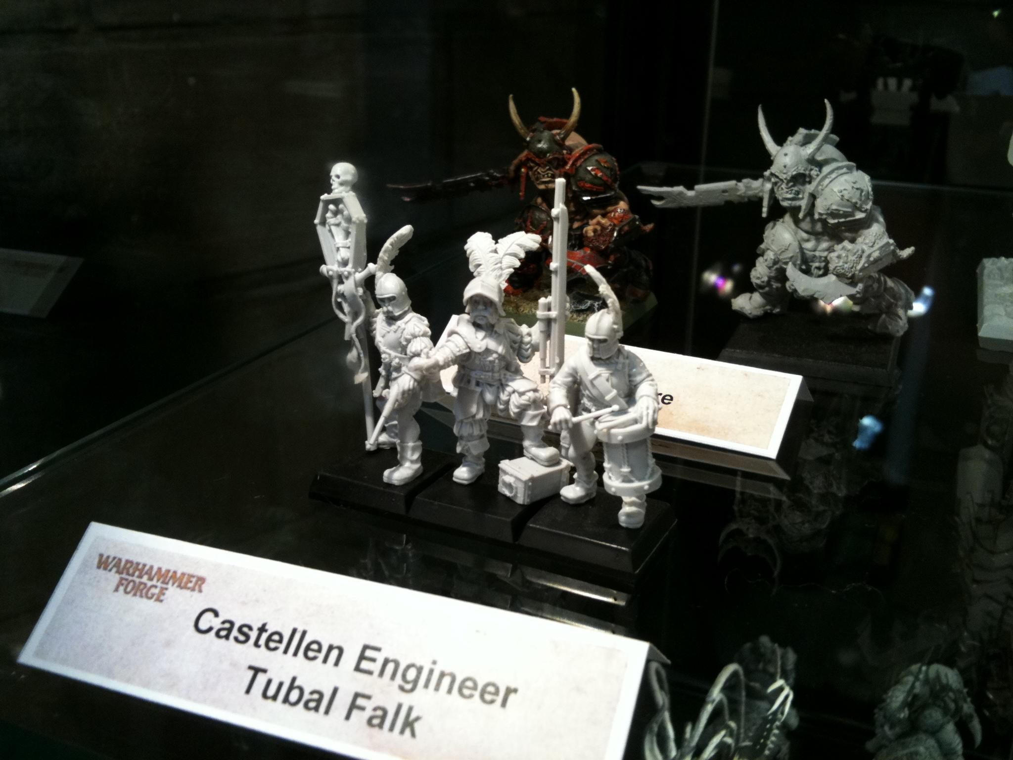 Empire, Empire Command Unit, Forge World, Games Workshop Ip, Handgunners, Resin