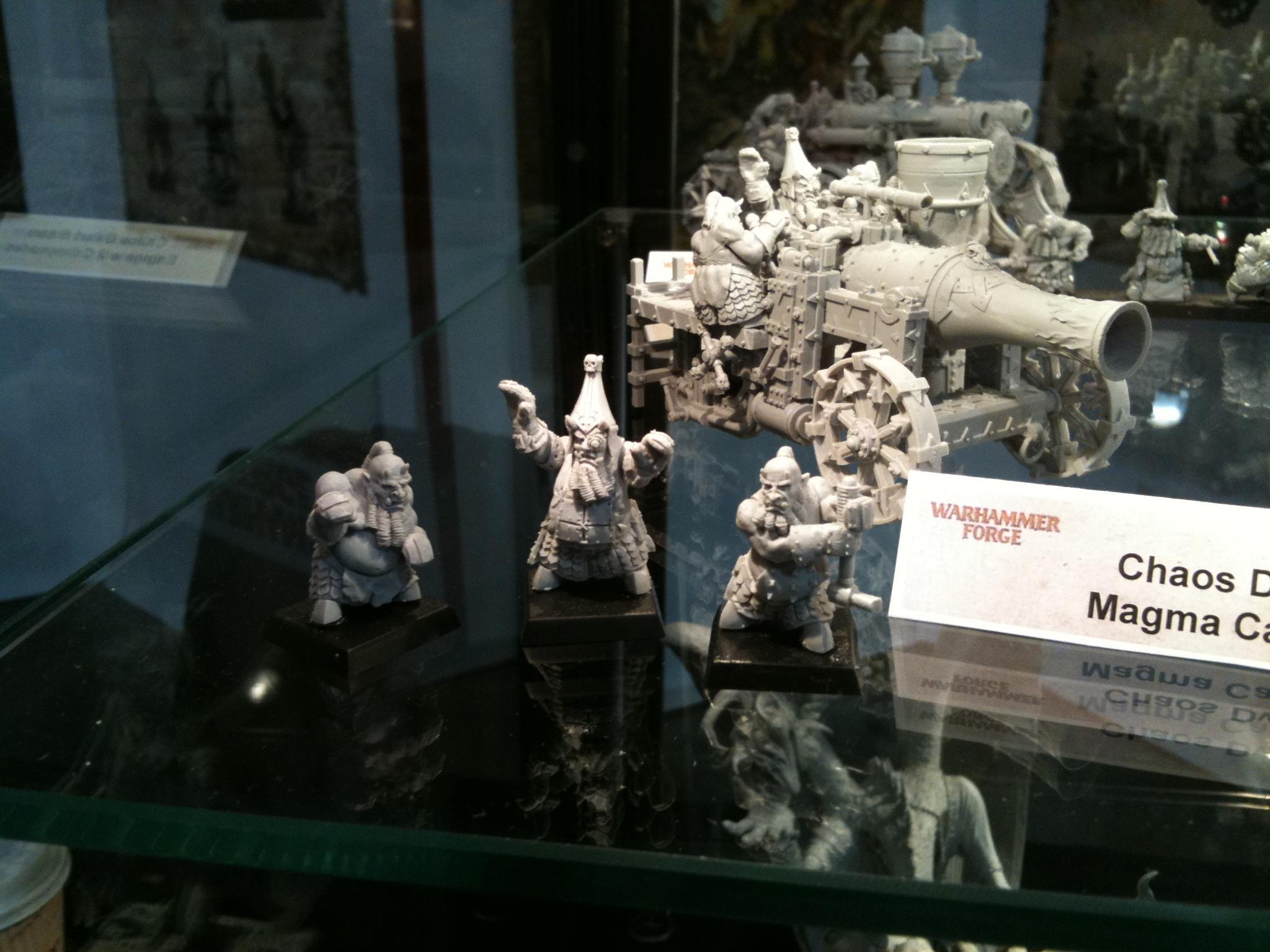 Chaos Dwarves, Forge World, Games Workshop Ip, Resin