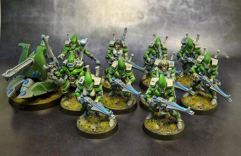 Eldar, Guardians, Redav, Scatter Laser, Warhammer 40,000
