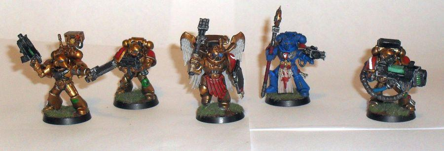 Space Marines, Group Shot 1