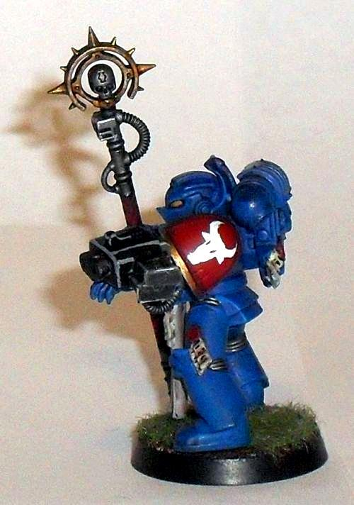 Conversion, Kit Bash, Librarian, Space Marines