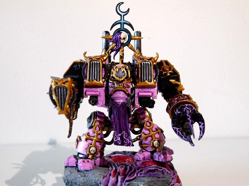 Chaos, Chaos Space Marines, Conversion, Dreadnought, Emperor's Children, Slaanesh
