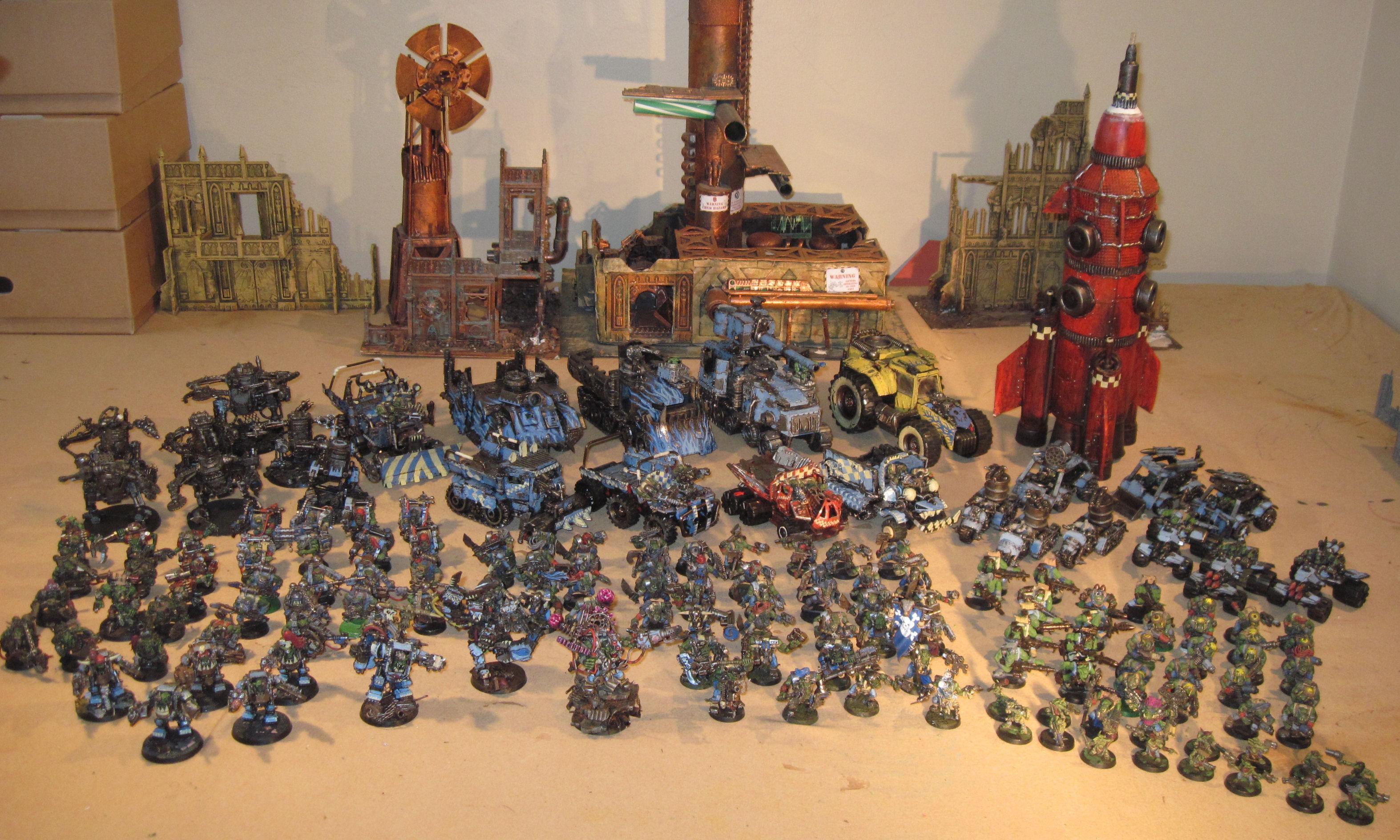 Army, Deathskulls, Orks, Work In Progress