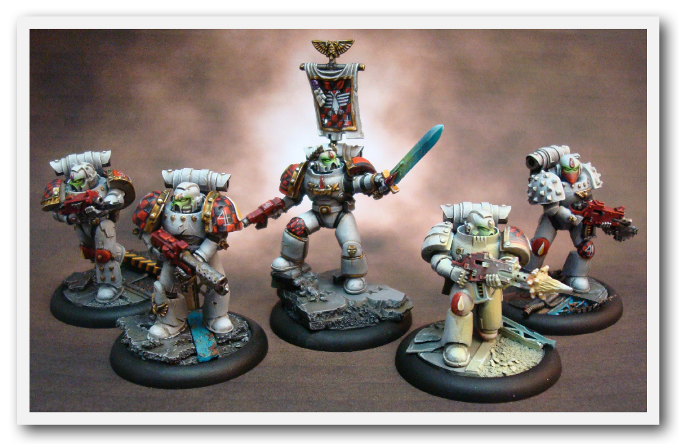 Object Source Lighting, Space Marines, True Scale