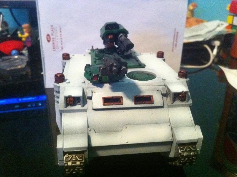 Space Marines, Bunker's Original Razorback
