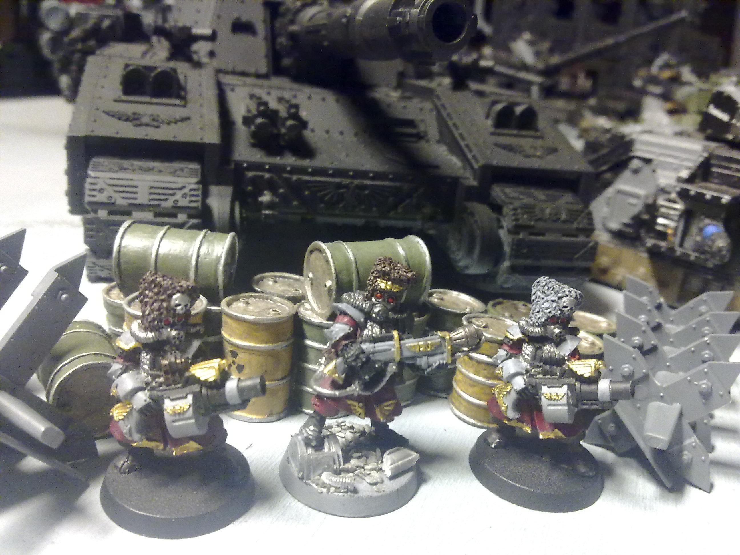 Work in progress Vostroyan special weapons