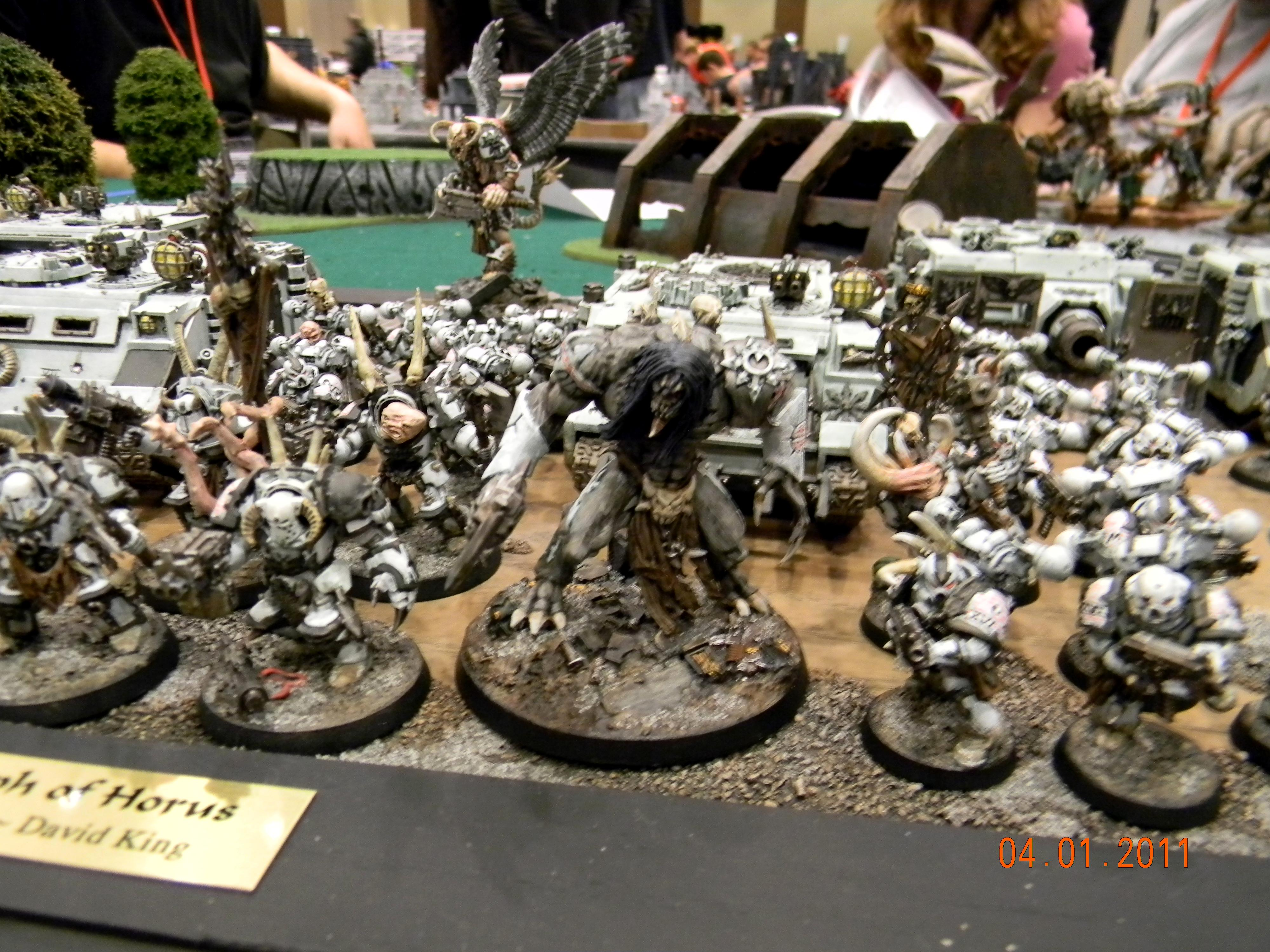 Adepticon 2011, Army, Chaos, Chaos Space Marines, Daemon Prince, Metal