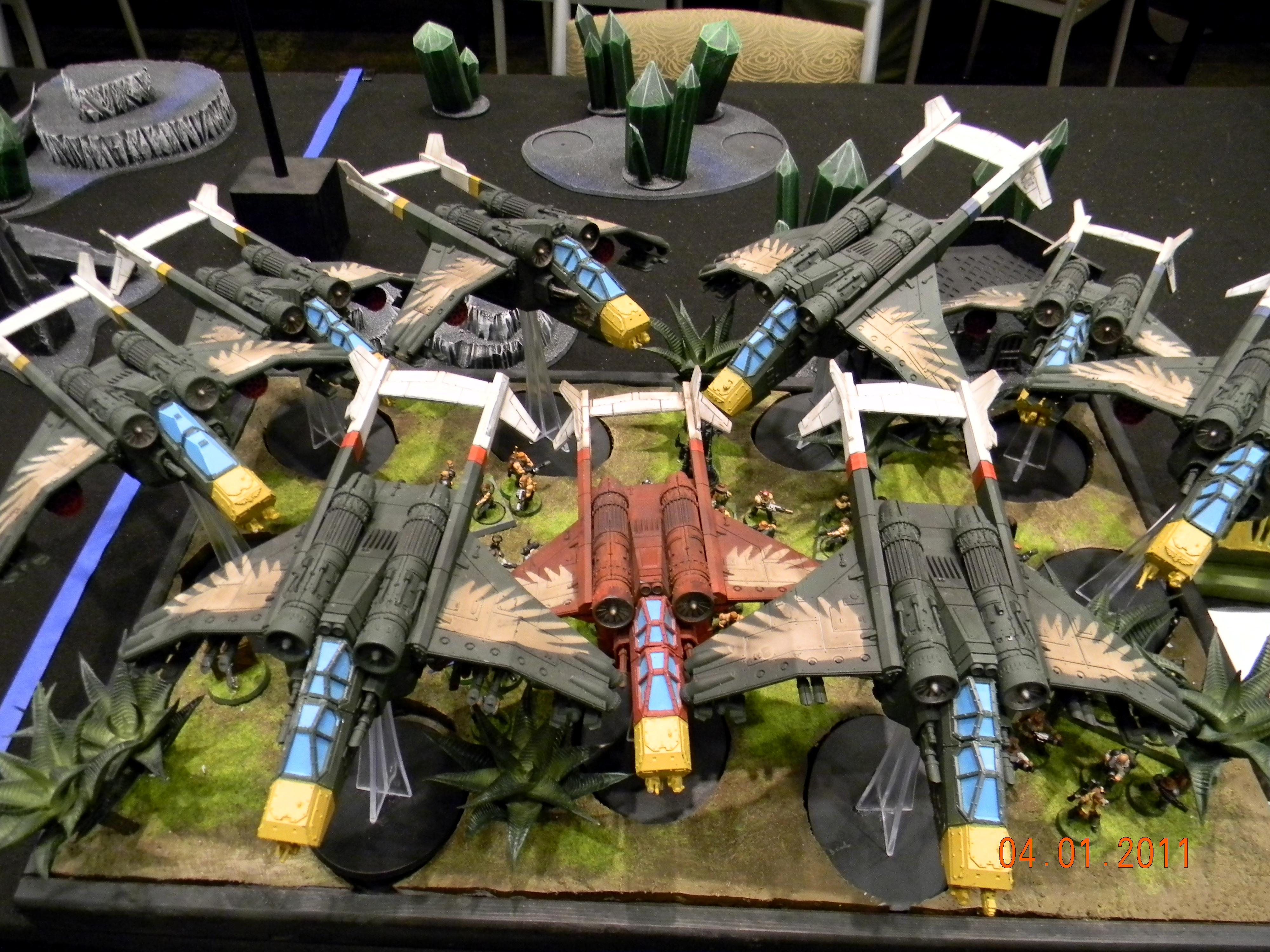 Adepticon 2011, Army, Imperial Guard, Valkyrie