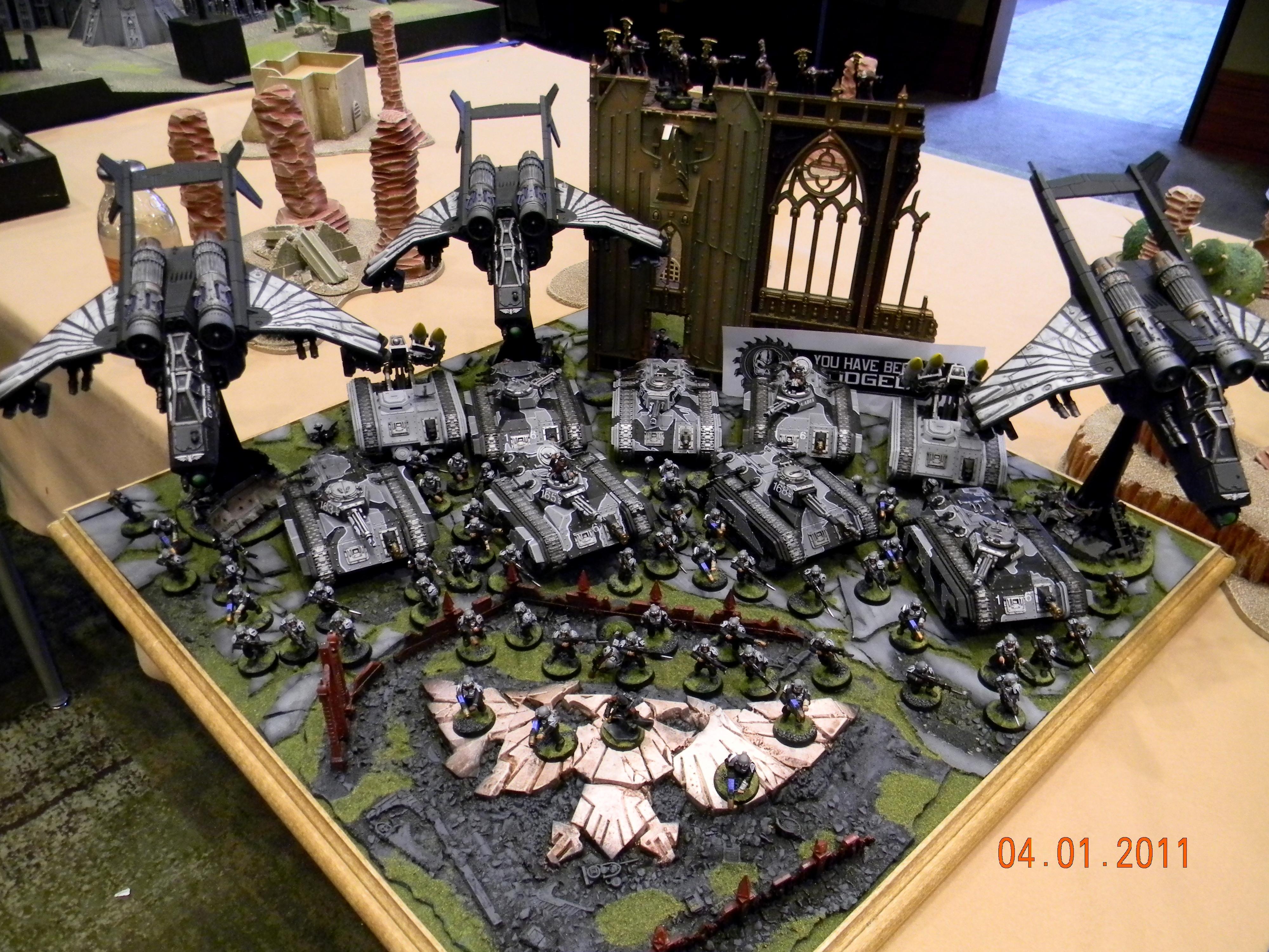 Adepticon 2011, Imperial Guard