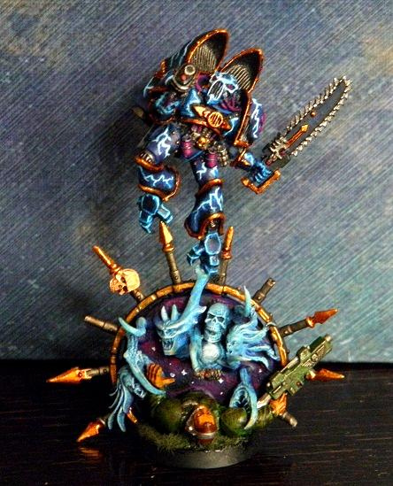 Chaos, Chaos Daemons, Chaos Space Marines, Conversion, Daemons, Night Lords, Portal, Raptors, Warhammer 40,000, Warp