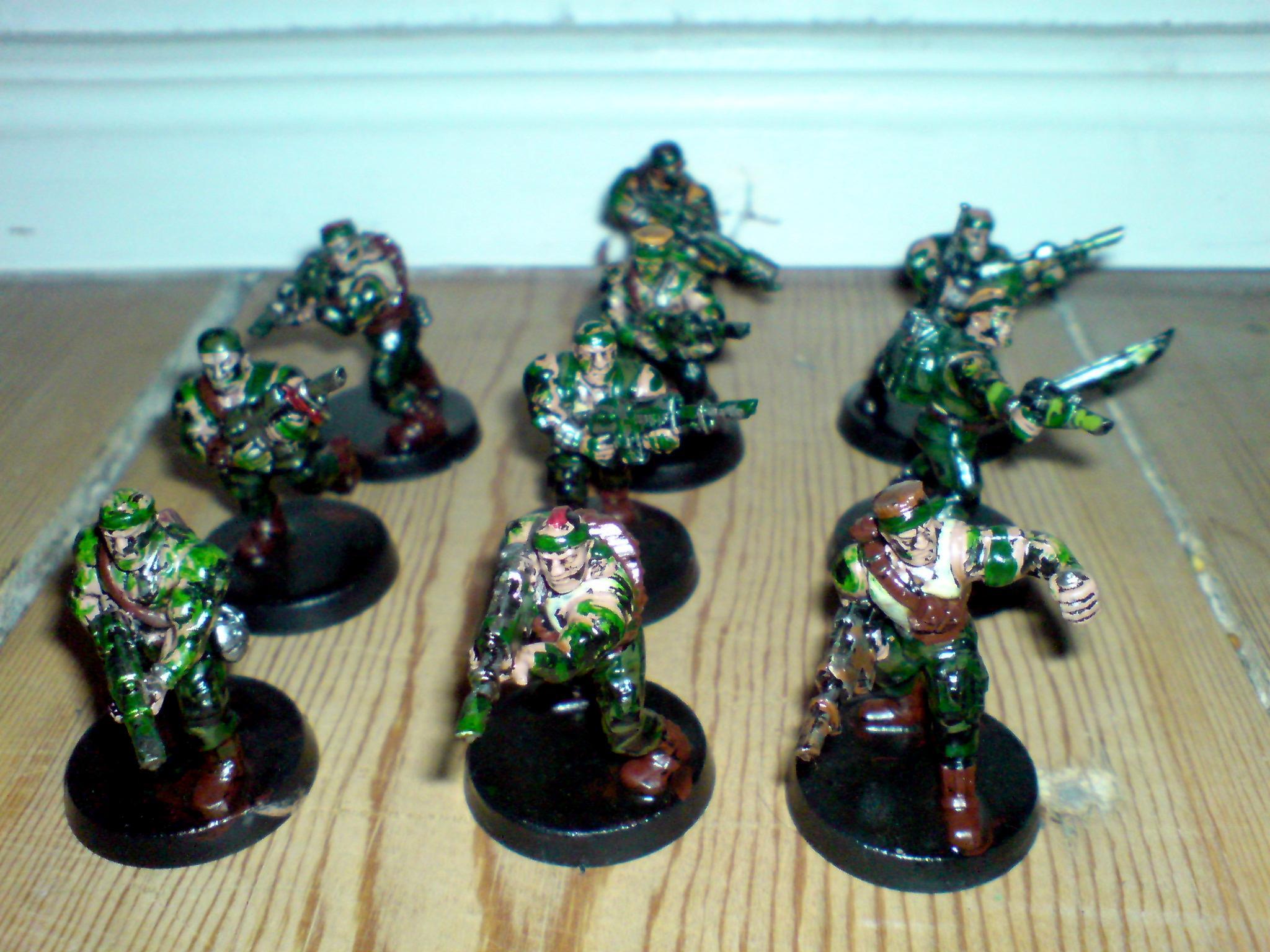 Catachan Imperial Guard, Catachan Imperial Gurad
