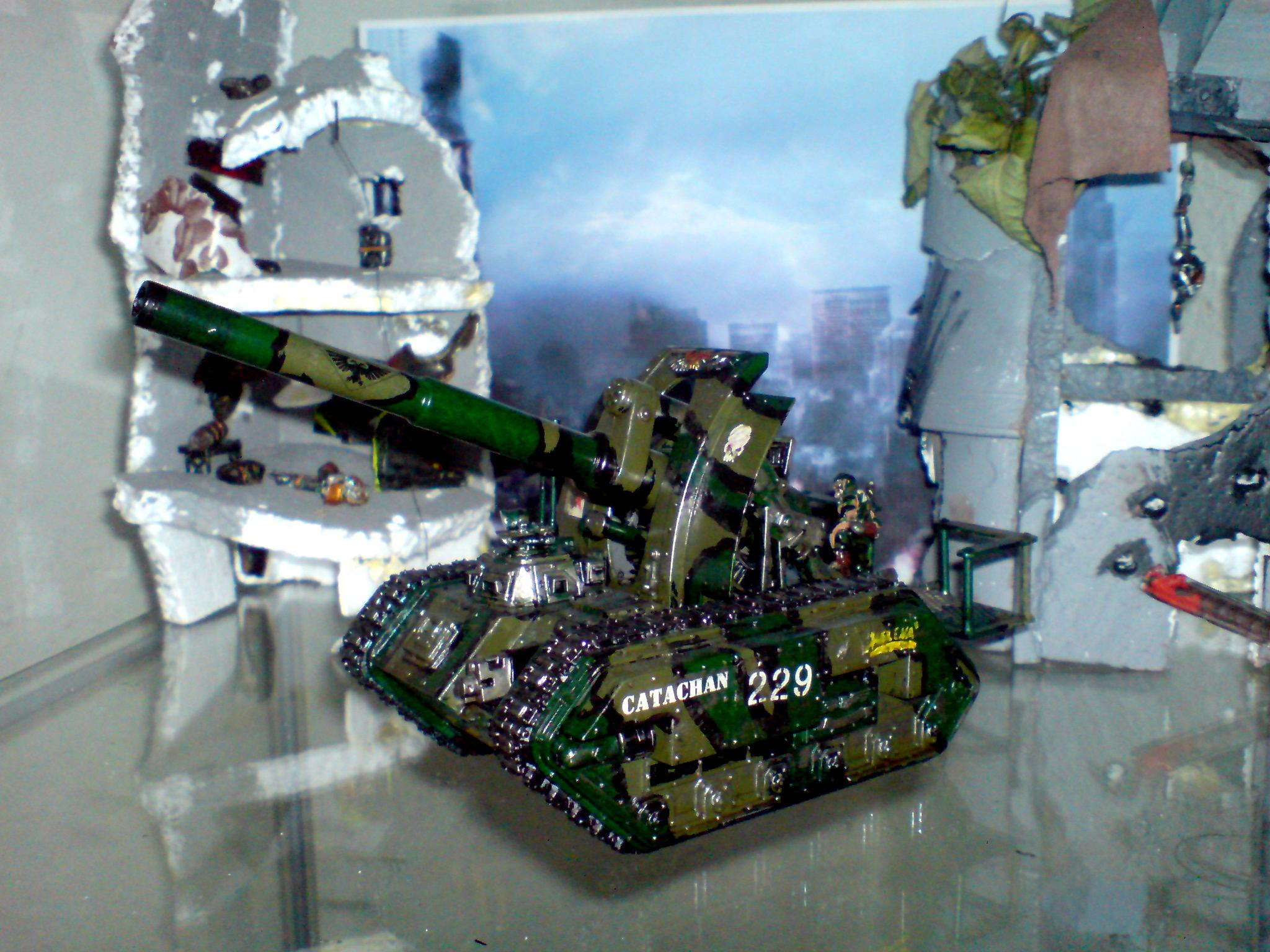 Catachan Imperial Guard Tank Basilisk, Catachan Imperial Gurad