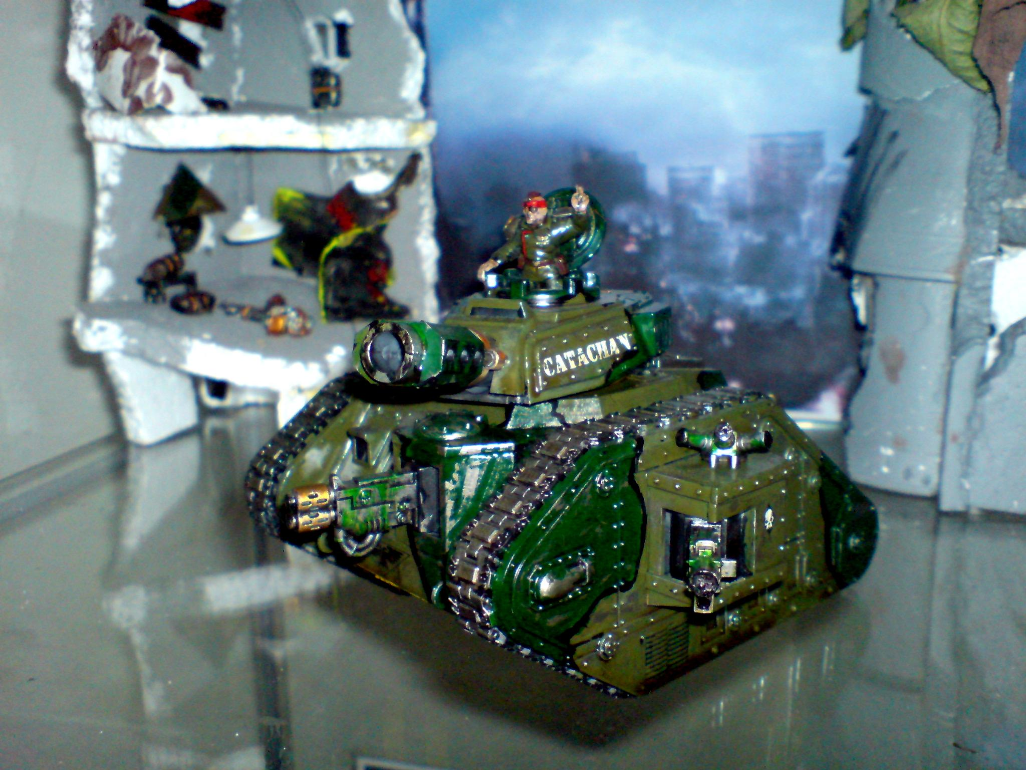 Catachan Imperial Guard Leman Russ Catachan 40k Tank, Catachan Imperial Gurad