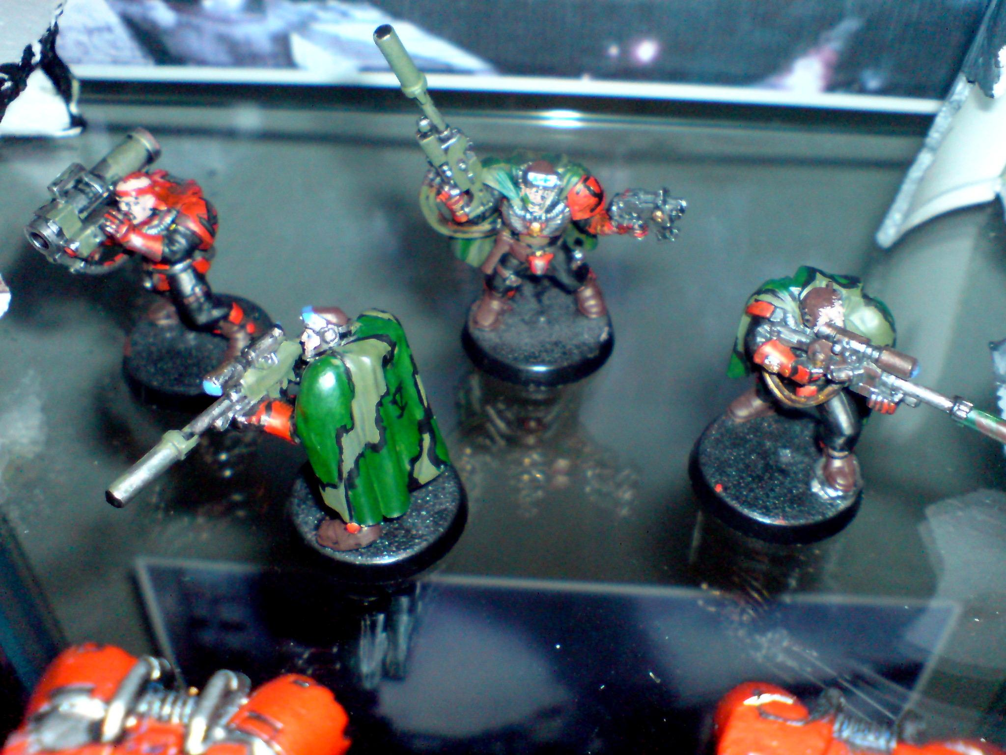Camo Cloaks, Camouflage, Missile Launcher, Scouts, Sniper Rifles, Space Marine 40k, Space Marines, Warhammer 40,000