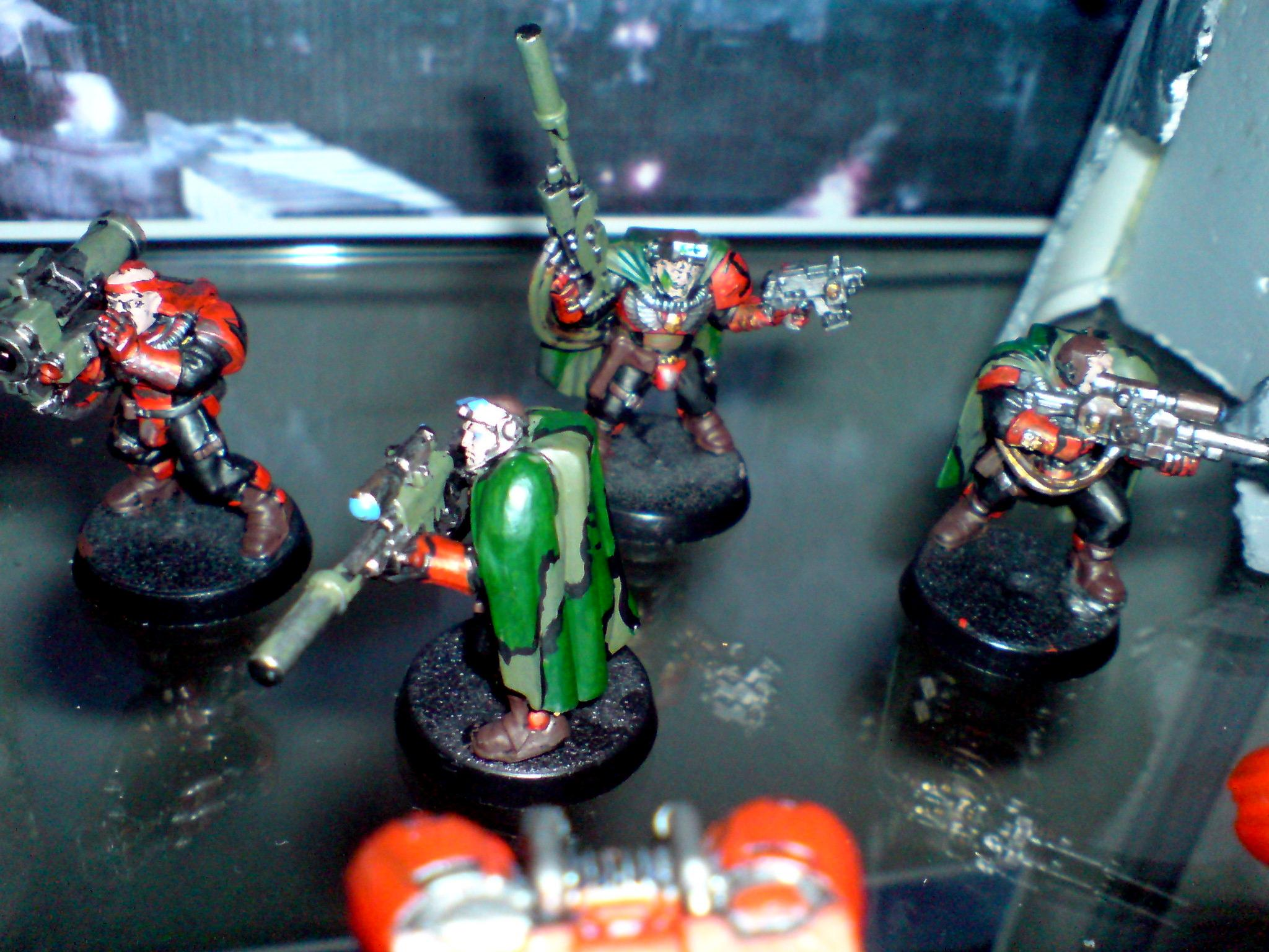 Space Marine 40k, Scout Snipers Space Marines 40k