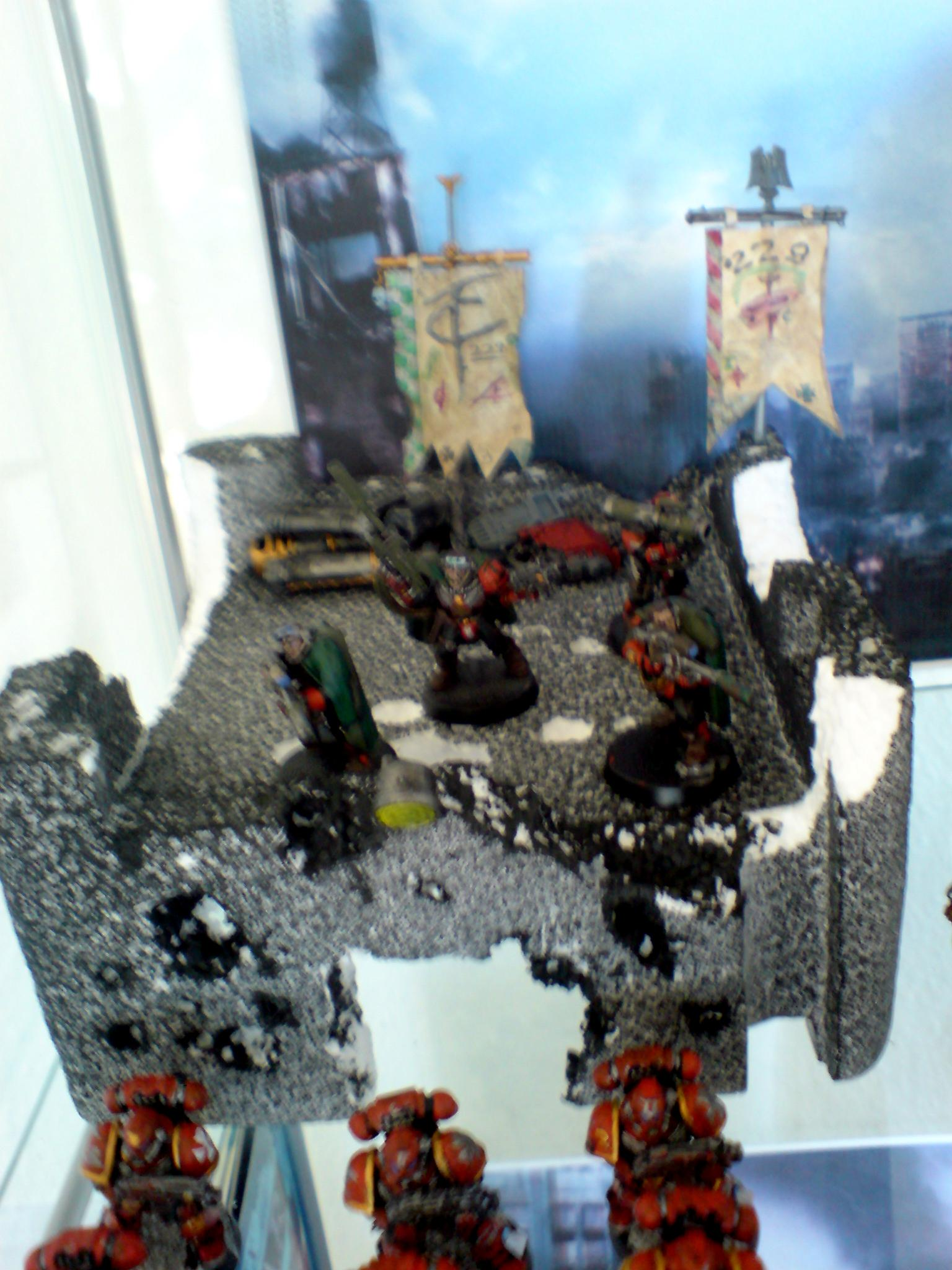 Space Marine 40k, Scout Snipers Old imperial Guard Shelter Space Marines 40k