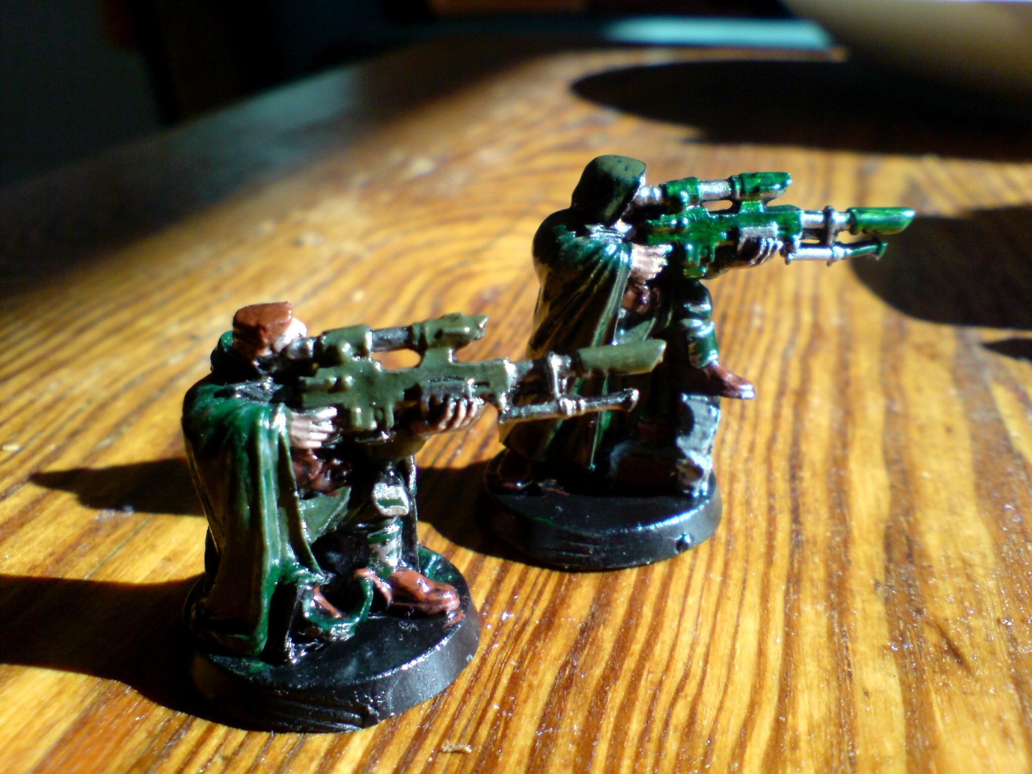 Cadians, Catachan Imperial Guard, Imperial Guard, Snipers, Veteran