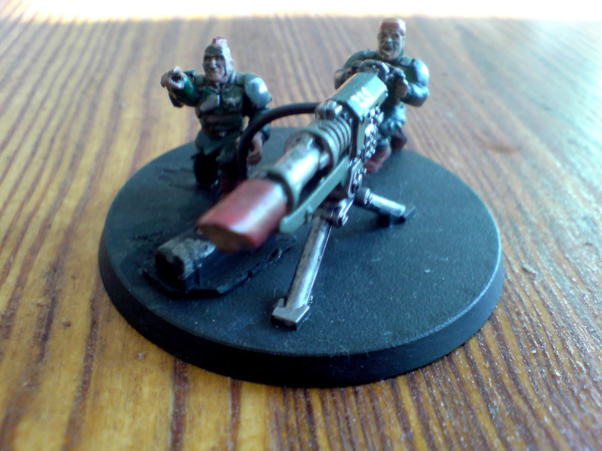 Catachan Jungle Fighters, Catachans, Guardsmen, Heavy Weapons Team, Imperial Guard, Warhammer 40,000