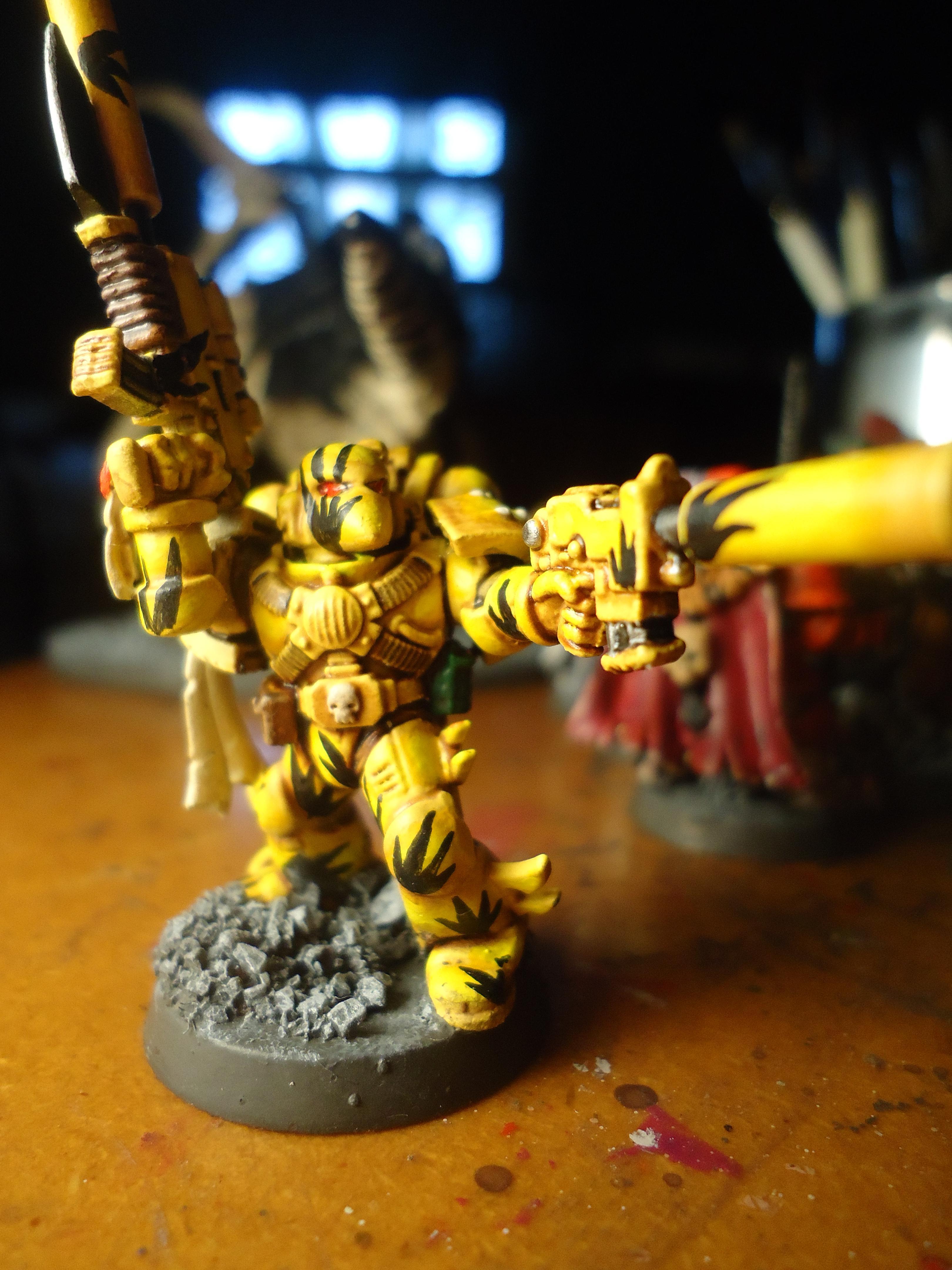 Beak, Space Marines, Yellow