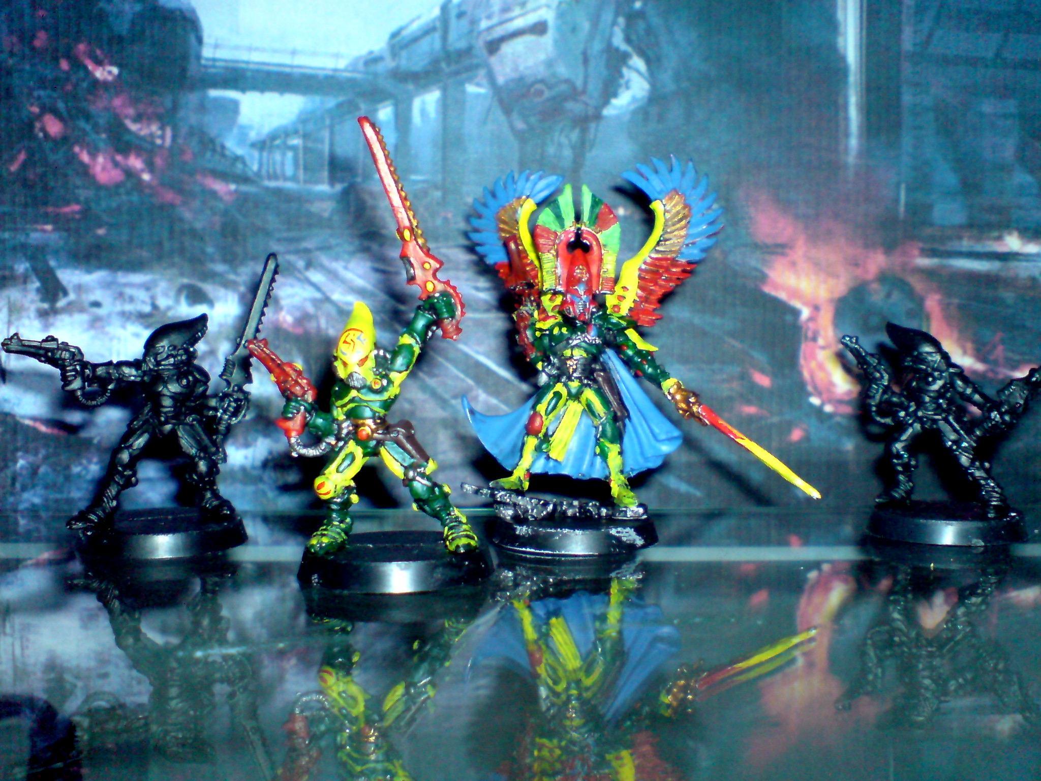 Autarch, Eldar, Striking Scorpion, Warhammer 40,000