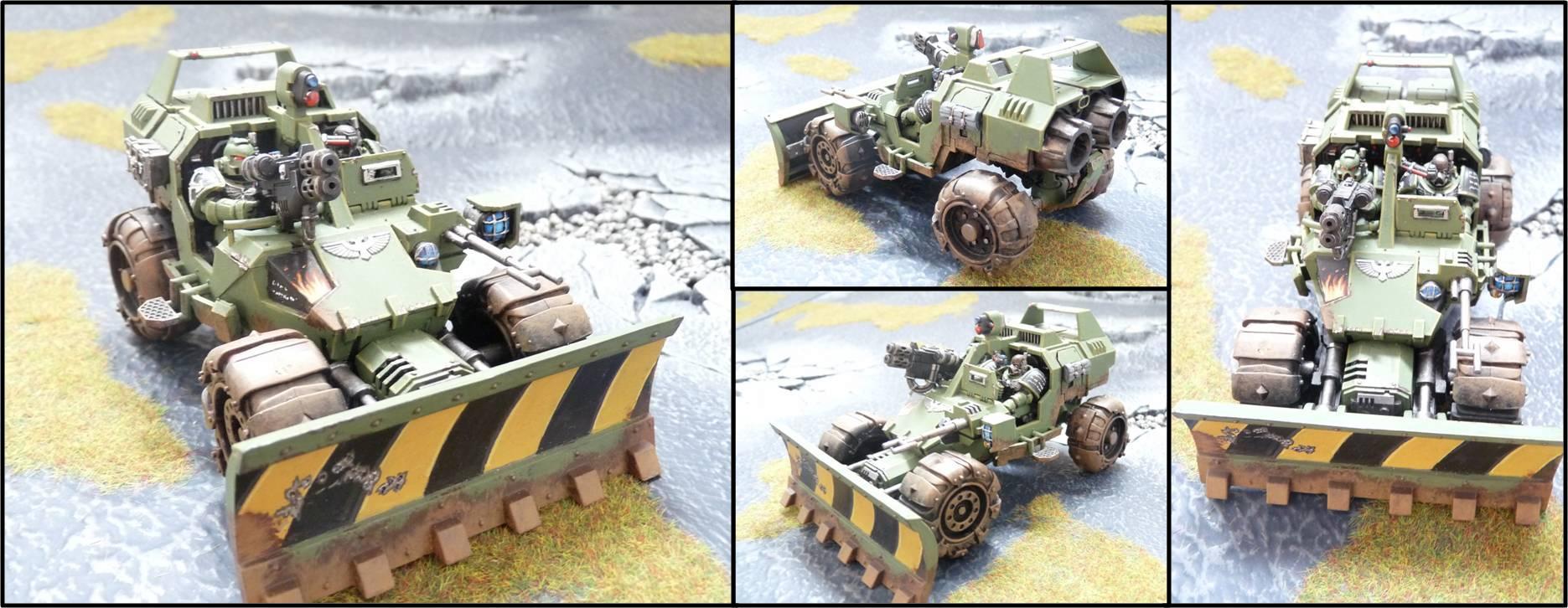 Attack Bike, Buggy, Jeep, Land Speeder, Space Marines