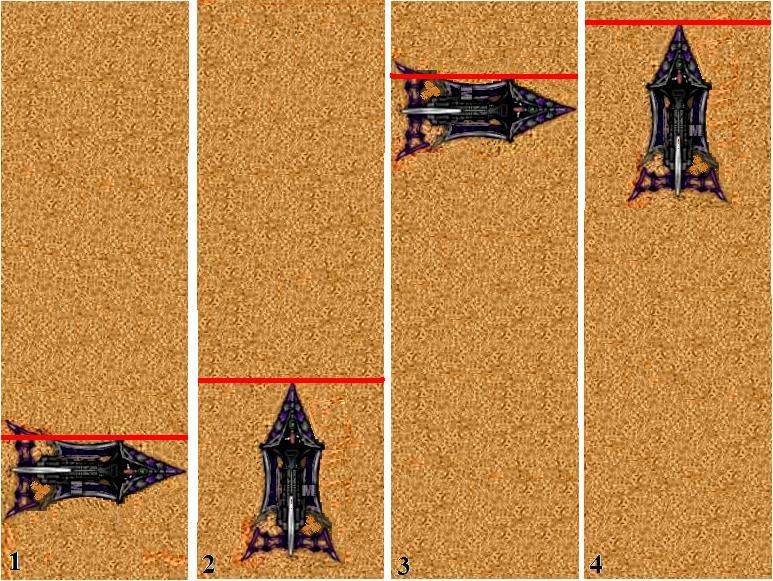 Dark Eldar, Tactics, Raider pivot trick