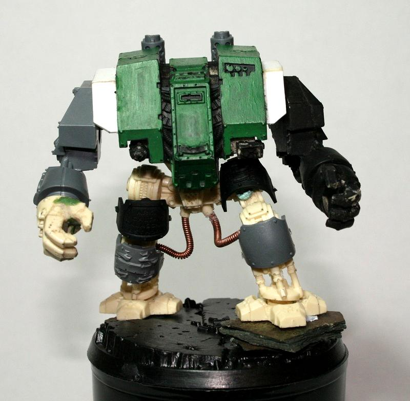 Conversion, Dreadnought, Space Marines, Tall, Work In Progress