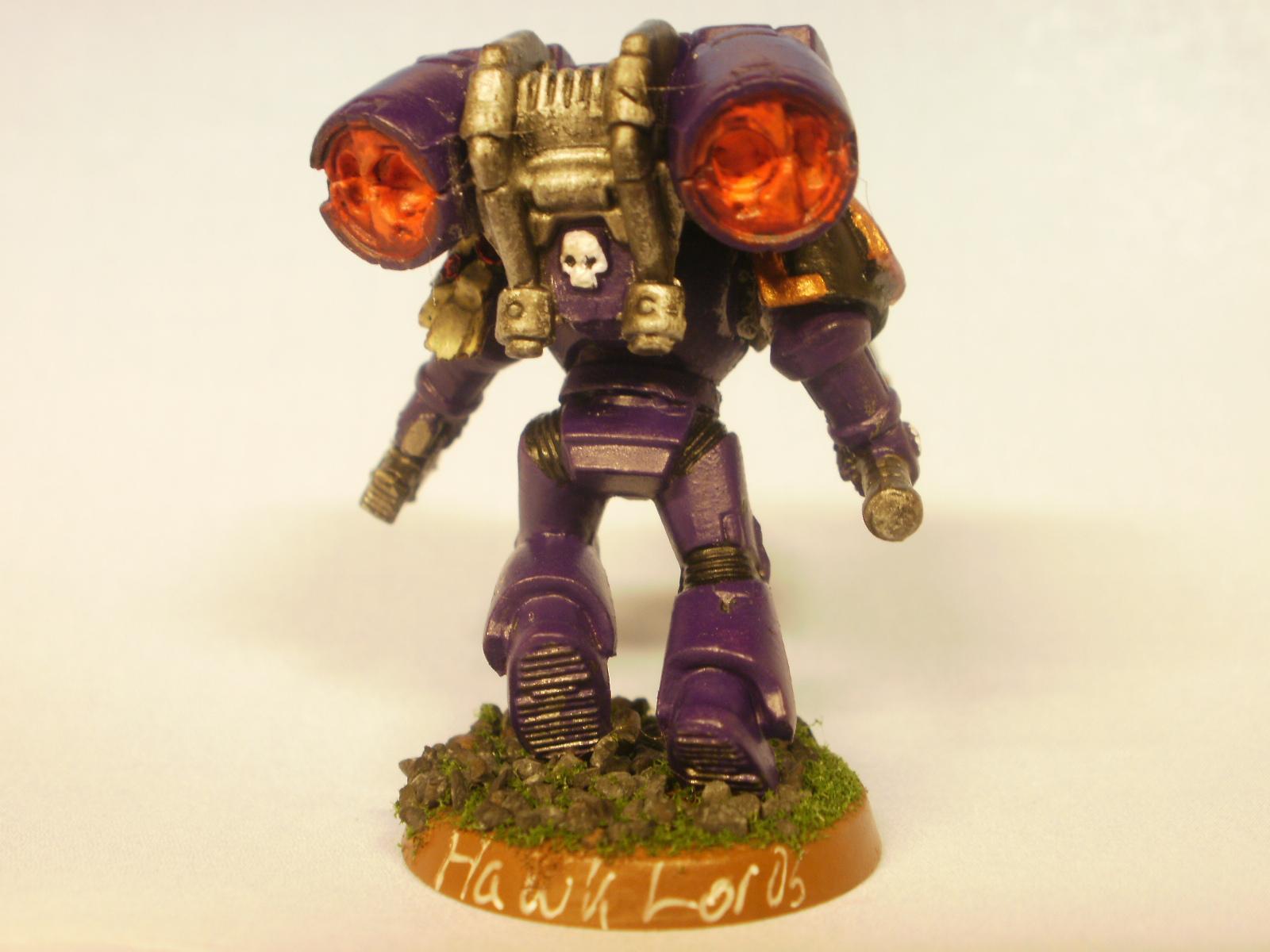 Hawk Lords - rear