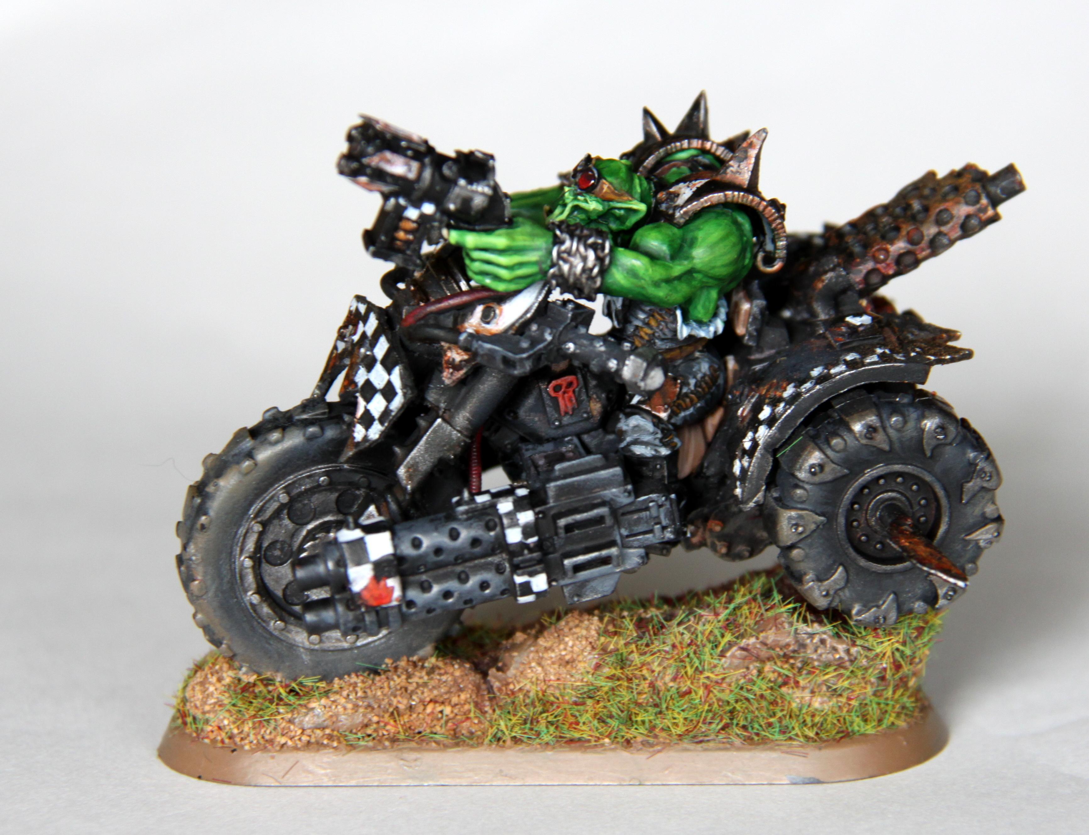 Bike, Nob Biker, Orks