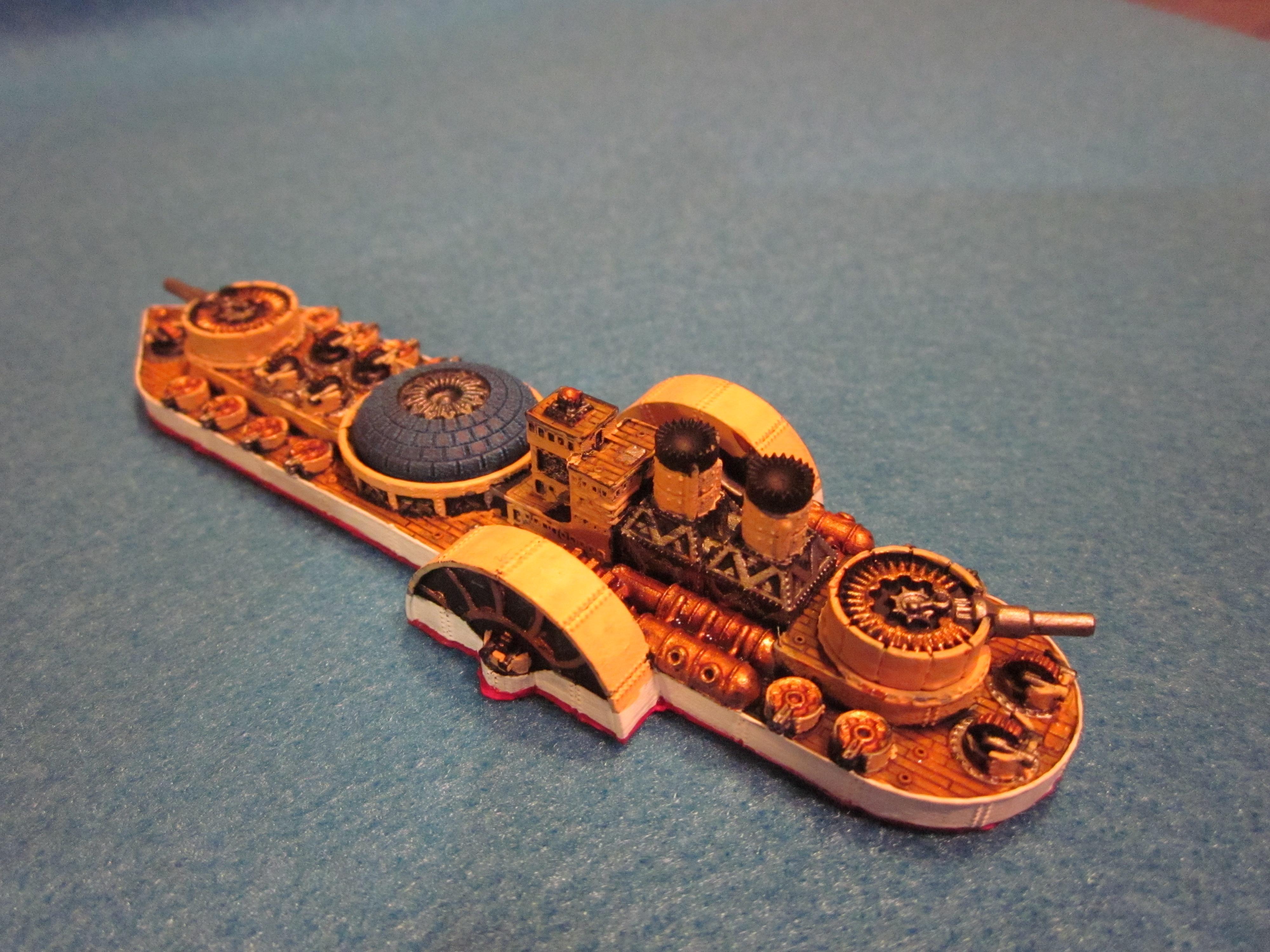 Battleship, Dystopian War, Fsa