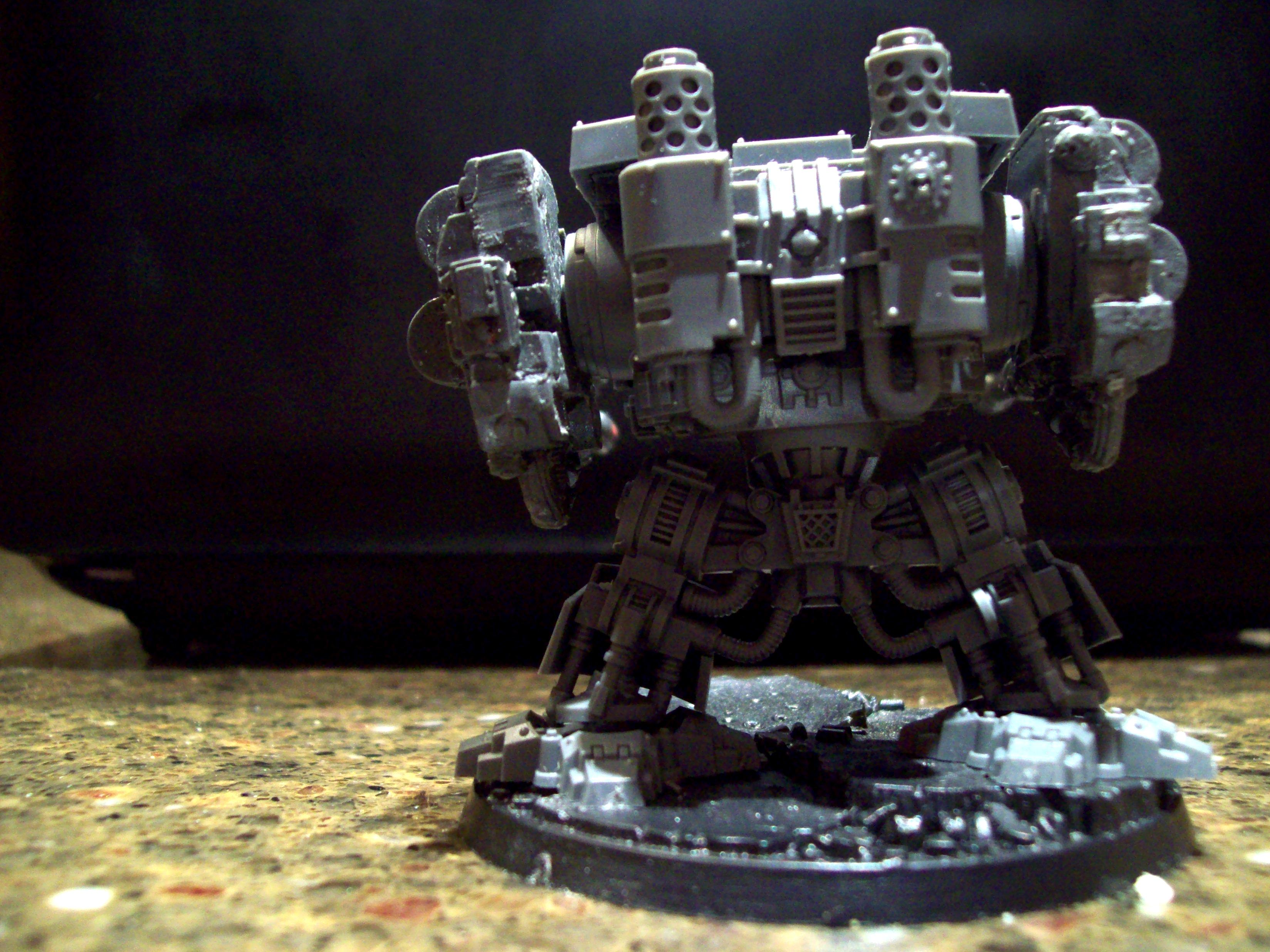 Conversion, Dakkadread, Dreadnought, Resin, Resin Casting