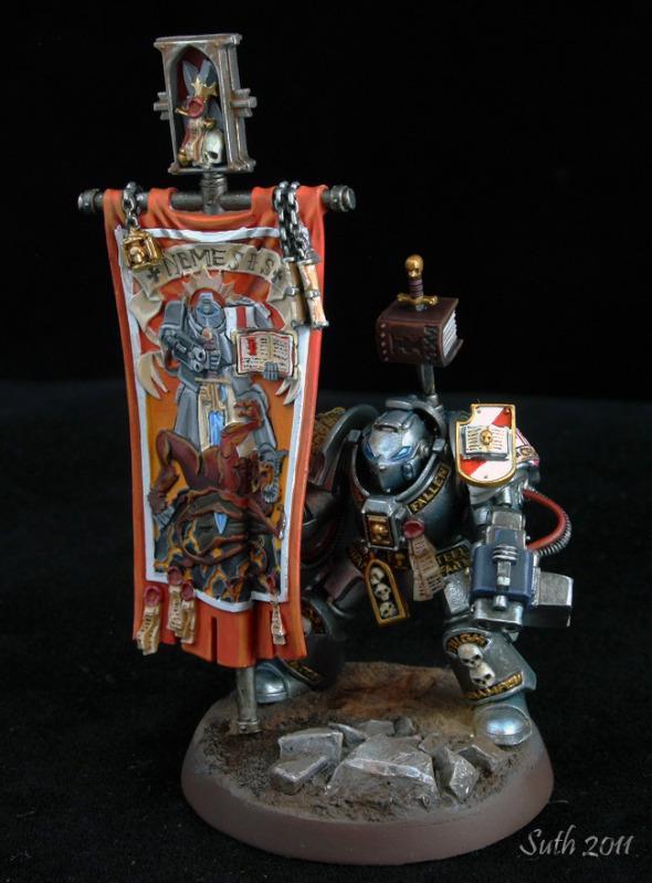 Banner, Grey Knights, Paladin, Space Marines, Stormbolter, Terminator Armor, Warhammer 40,000