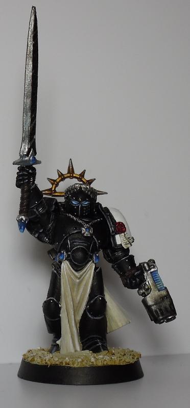 Black Templars, Champion, Emperor, Gem, Space Marines, Warhammer 40,000